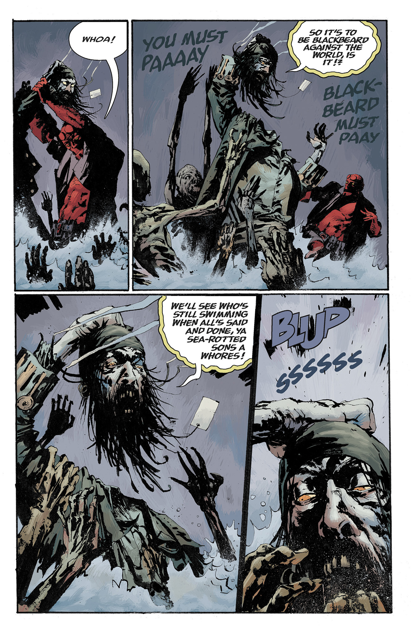 Read online Hellboy: The Crooked Man and Others comic -  Issue # TPB - 105