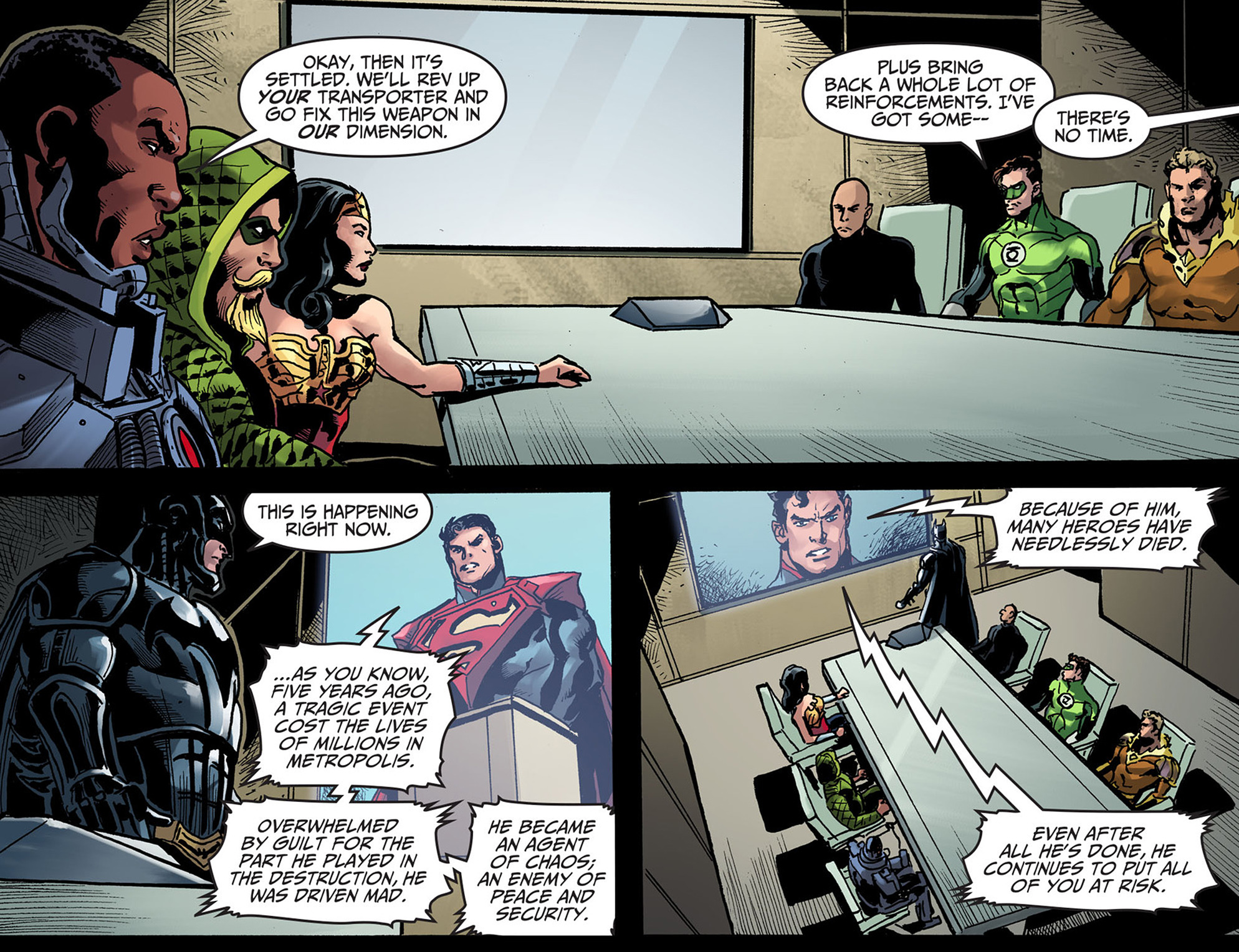 Read online Injustice: Ground Zero comic -  Issue #13 - 22