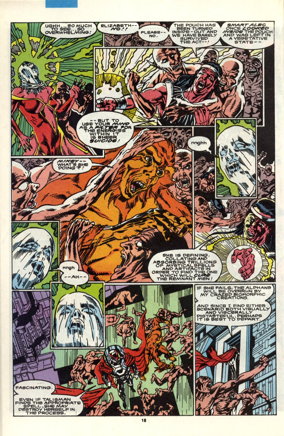Read online Alpha Flight (1983) comic -  Issue #90 - 15