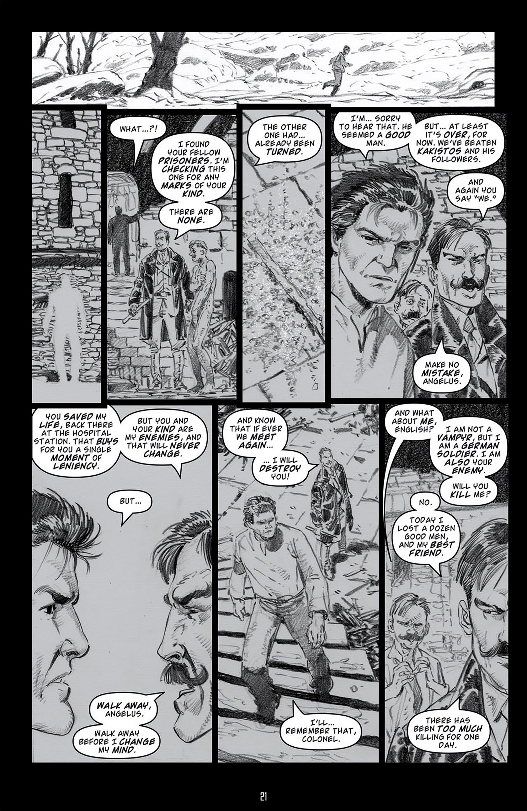 Read online Angel: Blood & Trenches comic -  Issue #4 - 24