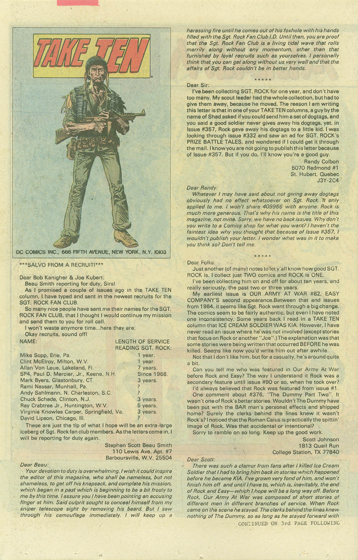 Read online Sgt. Rock comic -  Issue #382 - 20