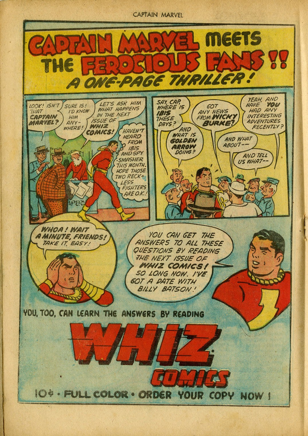 Captain Marvel Adventures issue 34 - Page 34