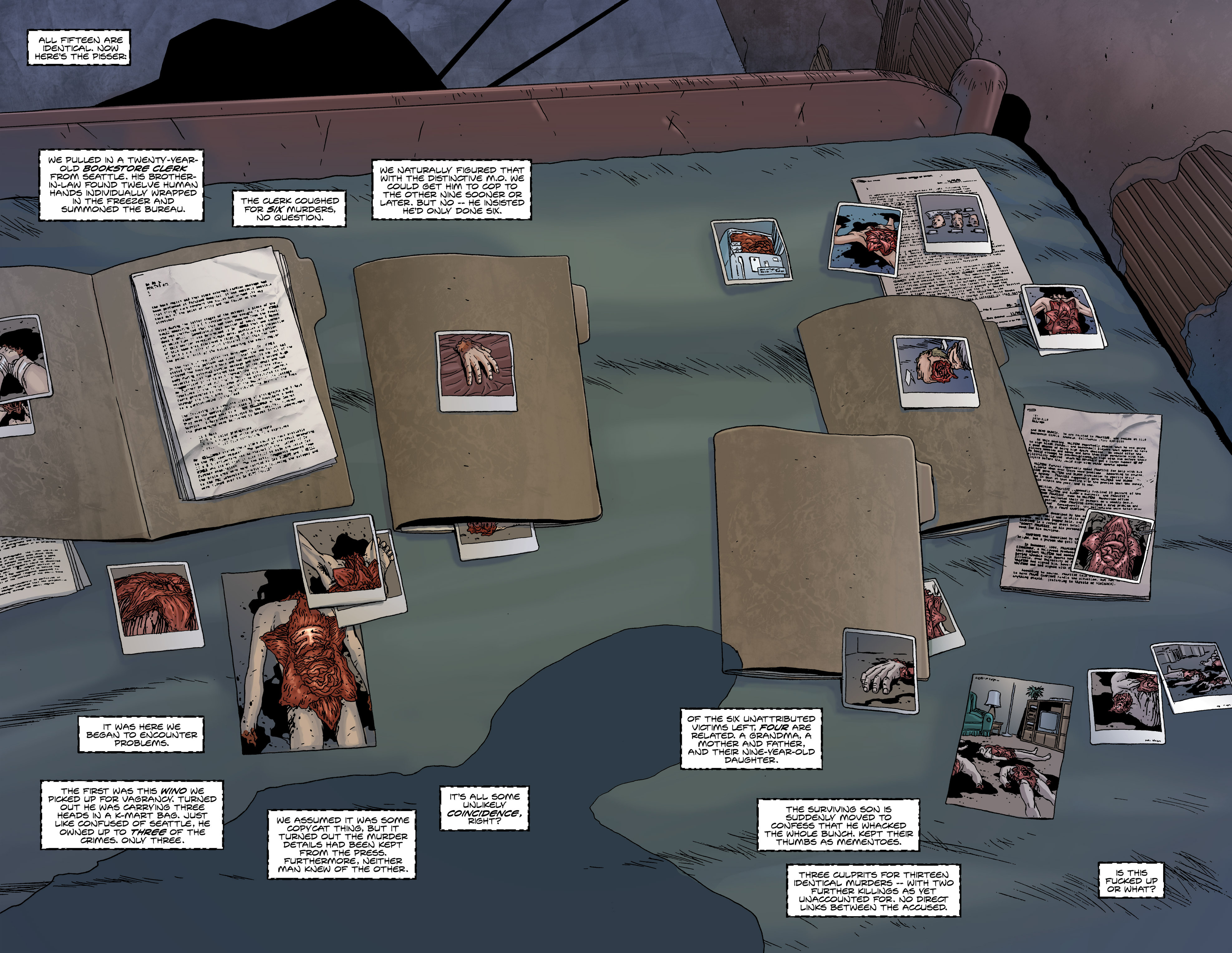 Read online Alan Moore's The Courtyard comic -  Issue # TPB - 13