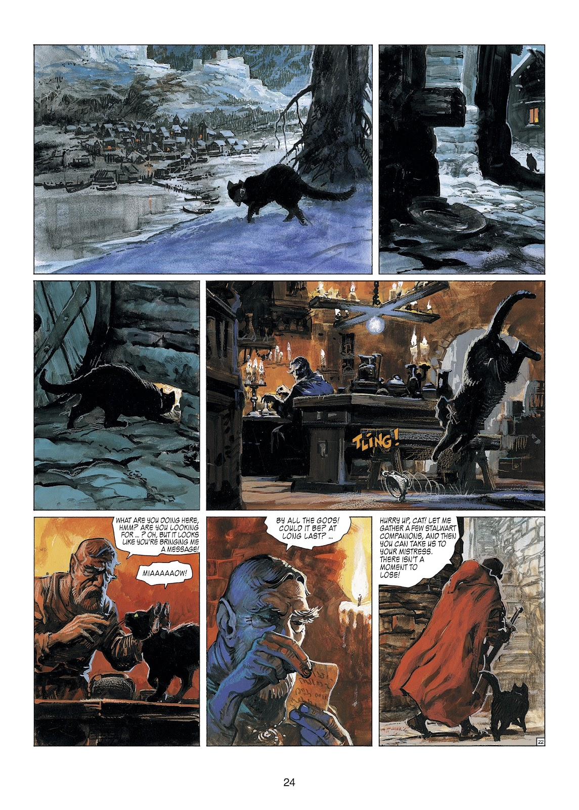 Read online Thorgal comic -  Issue #23 - 26