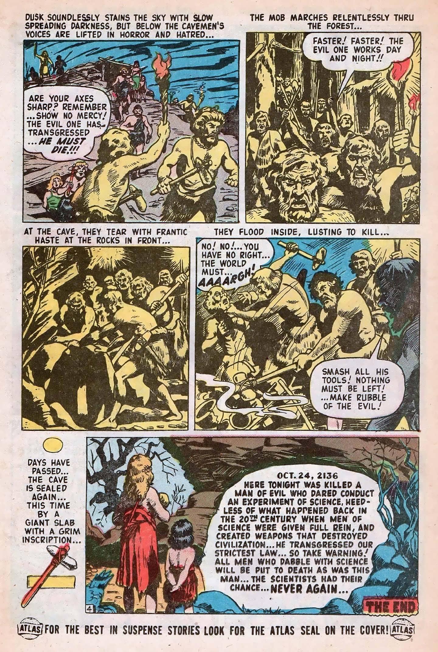 Read online Adventures into Weird Worlds comic -  Issue #20 - 26