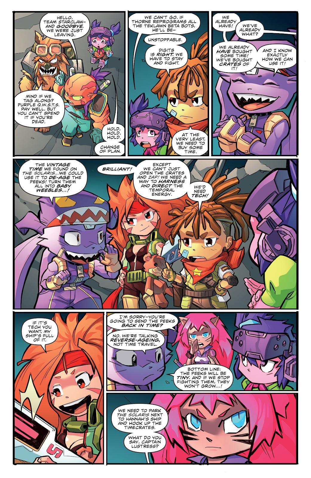 Read online Starcadia Quest comic -  Issue #3 - 14