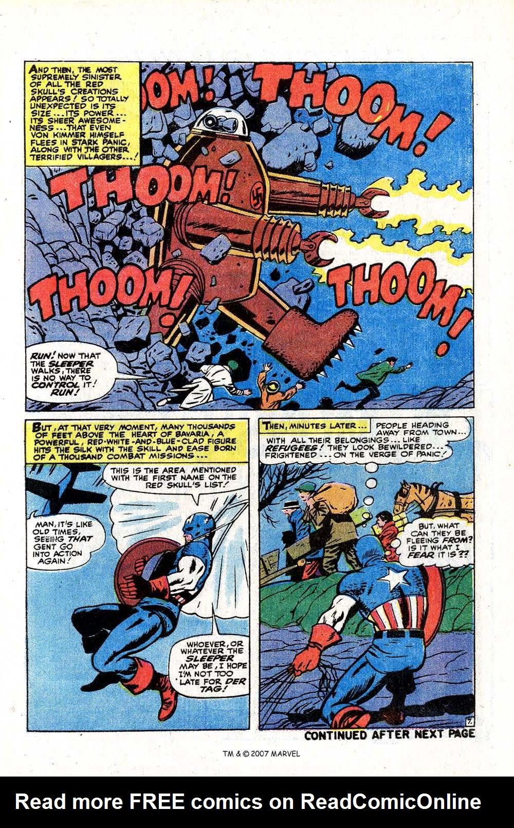 Read online Captain America (1968) comic -  Issue # _Annual 2 - 9
