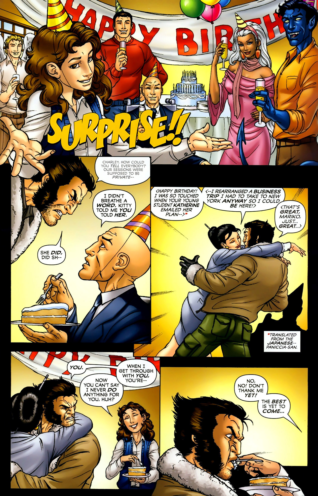 Read online Wolverine: First Class comic -  Issue #2 - 7