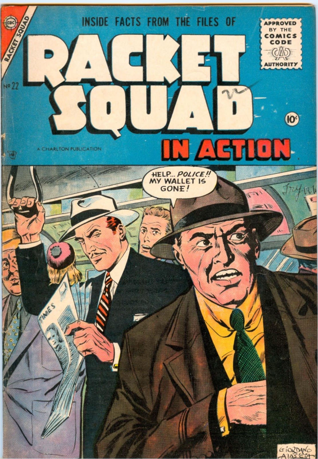 Read online Racket Squad in Action comic -  Issue #22 - 1