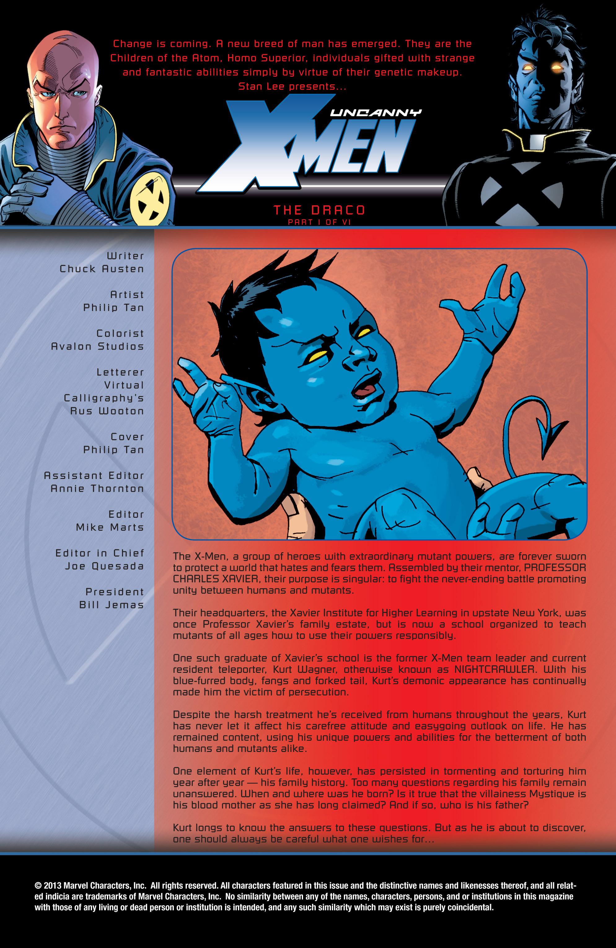 Read online Uncanny X-Men (1963) comic -  Issue #429 - 2