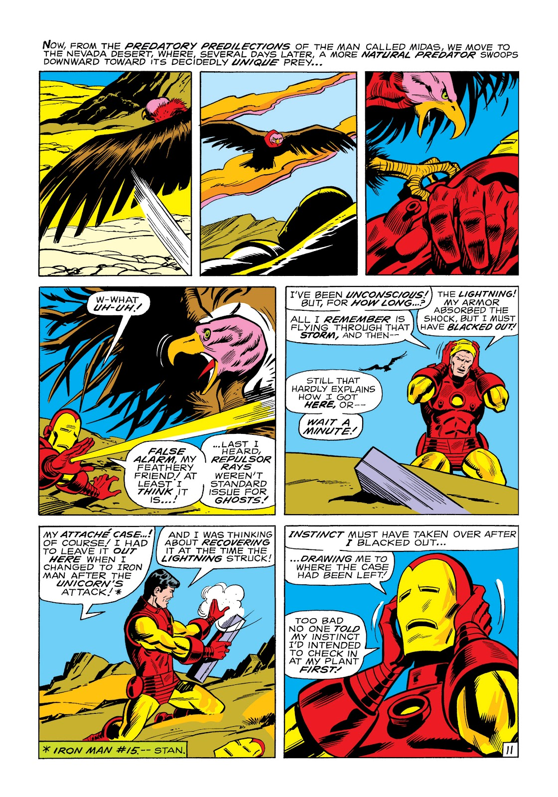 Read online Marvel Masterworks: The Invincible Iron Man comic -  Issue # TPB 6 (Part 1) - 80