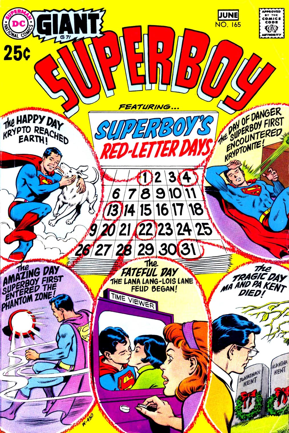 Superboy (1949) issue 165 - Page 1