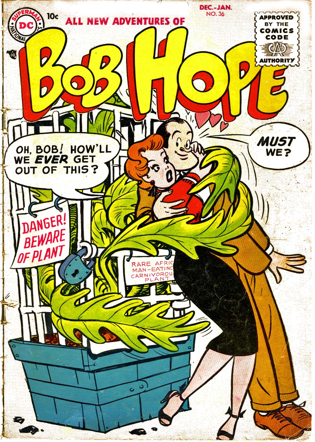 The Adventures of Bob Hope issue 36 - Page 1