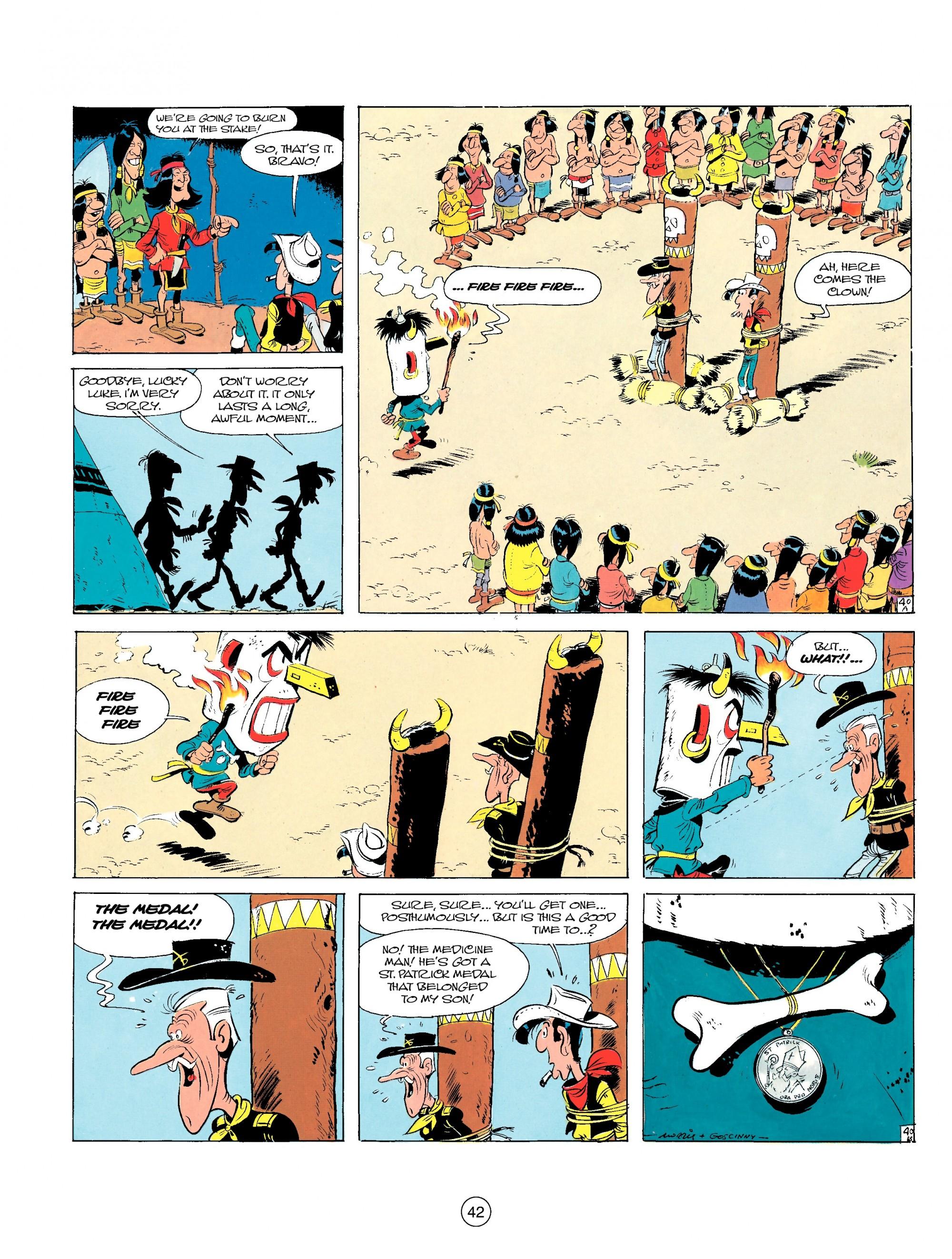 Read online A Lucky Luke Adventure comic -  Issue #17 - 42