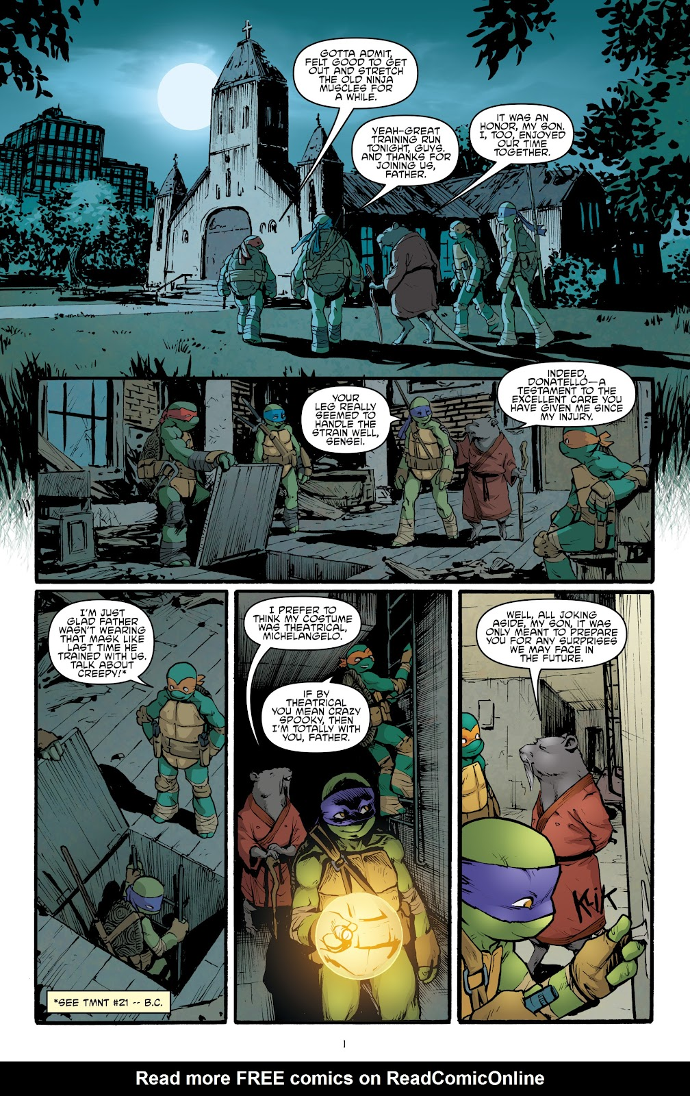 Read online Teenage Mutant Ninja Turtles: The IDW Collection comic -  Issue # TPB 5 (Part 2) - 3