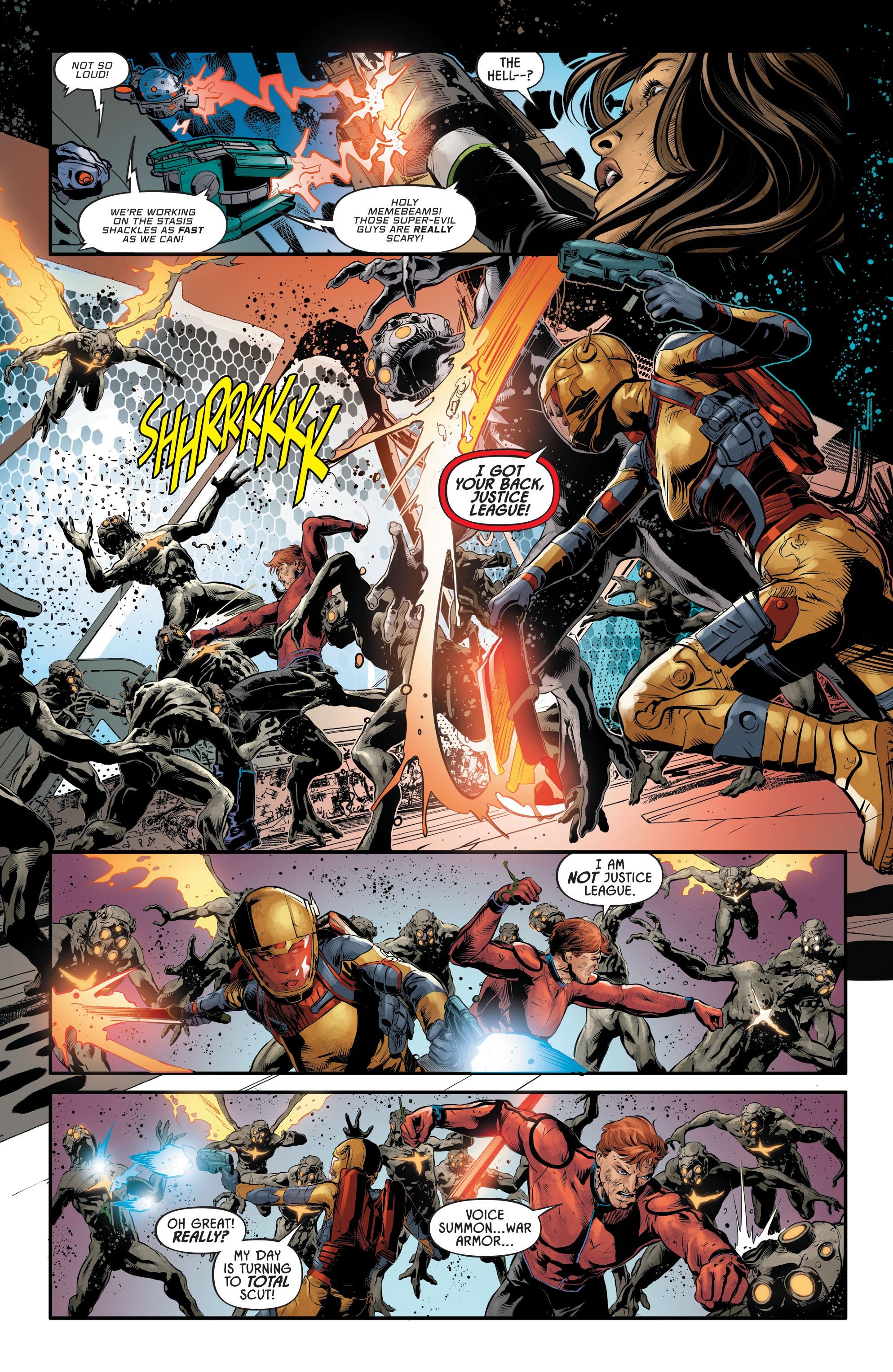 Justice League Odyssey #17 #17 - English 16