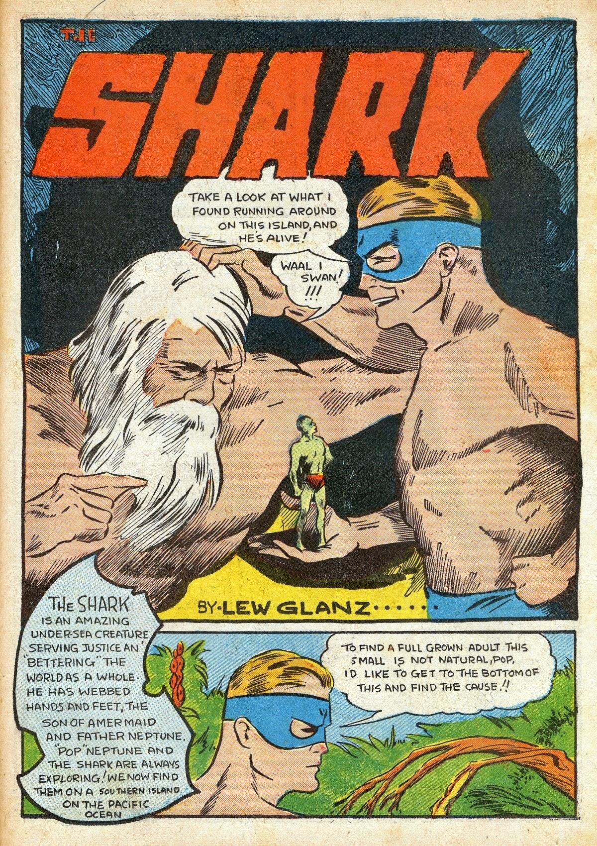 Read online Amazing Man Comics comic -  Issue #16 - 43