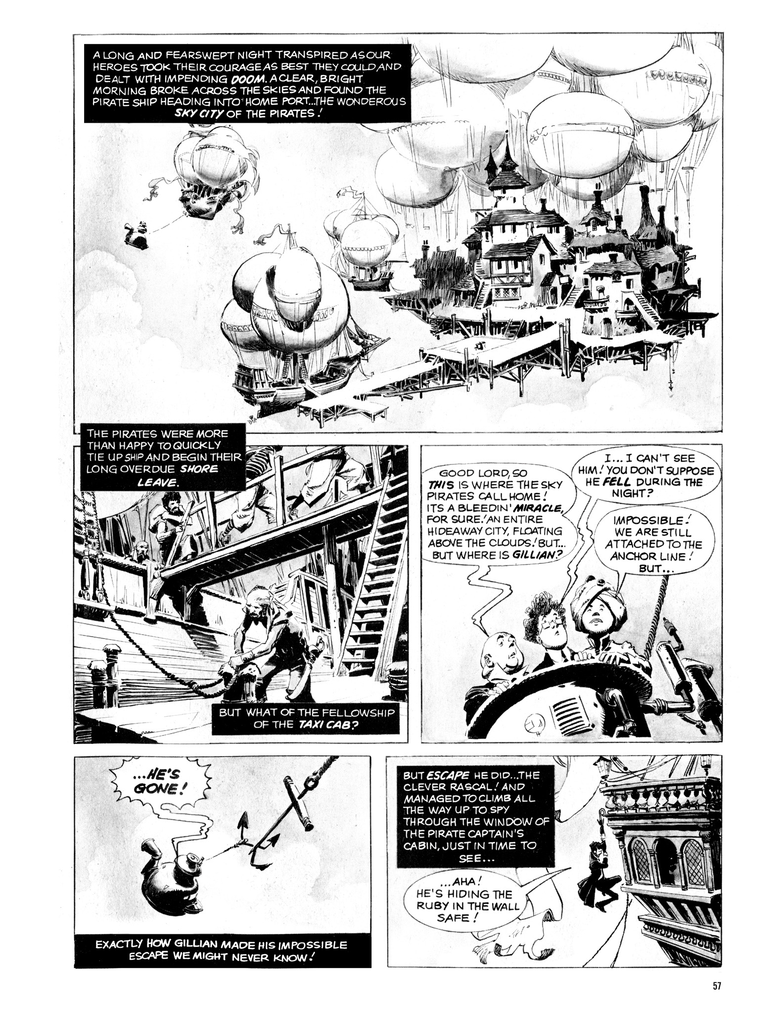 Read online Eerie Archives comic -  Issue # TPB 16 - 58