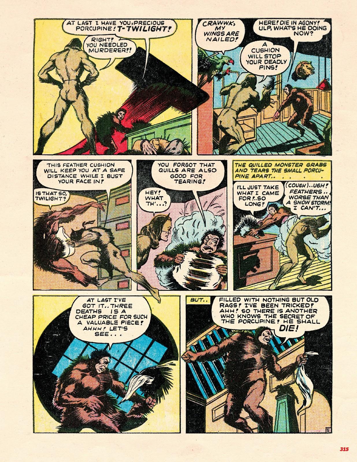Read online Super Weird Heroes comic -  Issue # TPB 2 (Part 3) - 115