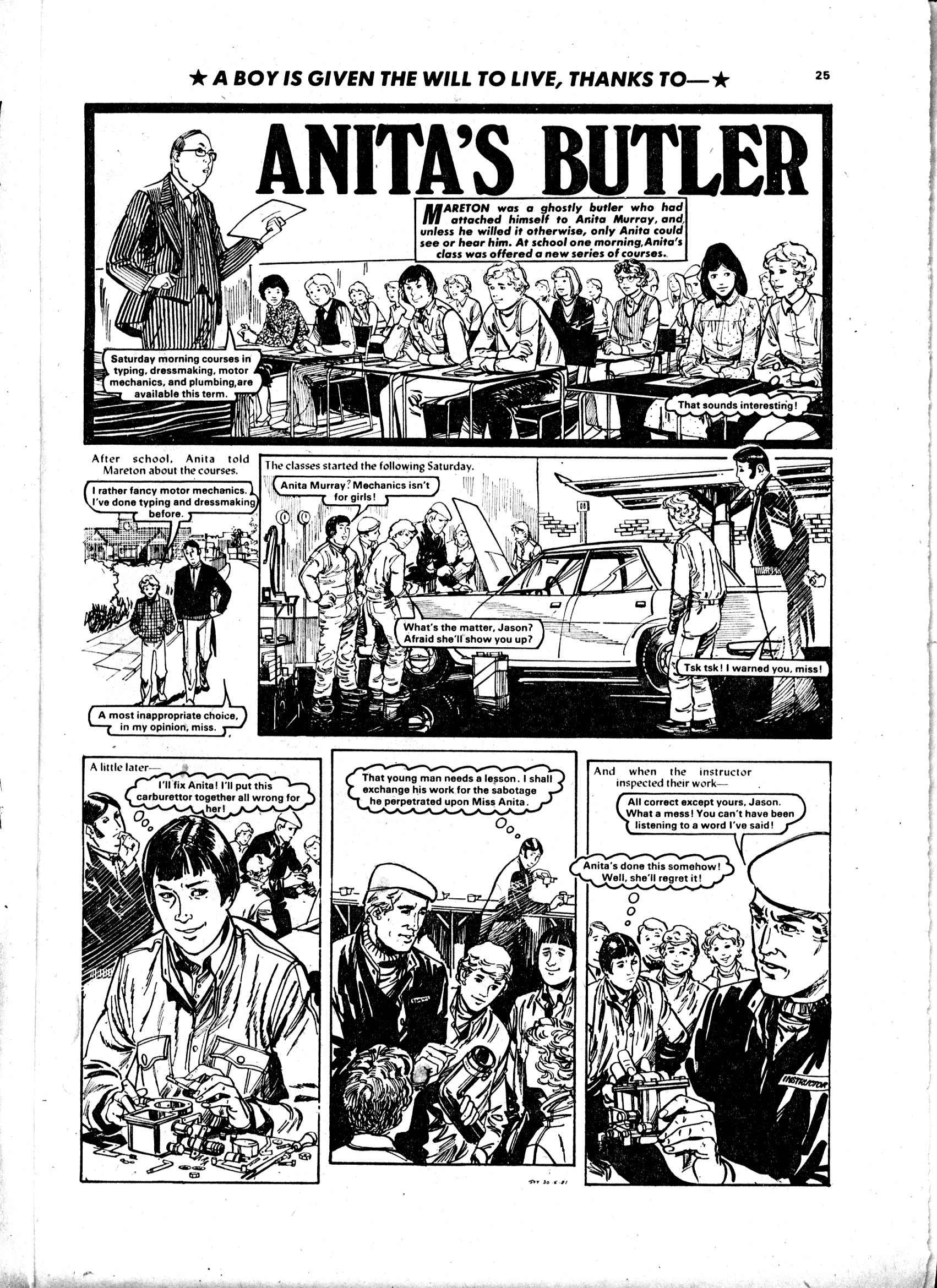 Read online Judy comic -  Issue #1116 - 25