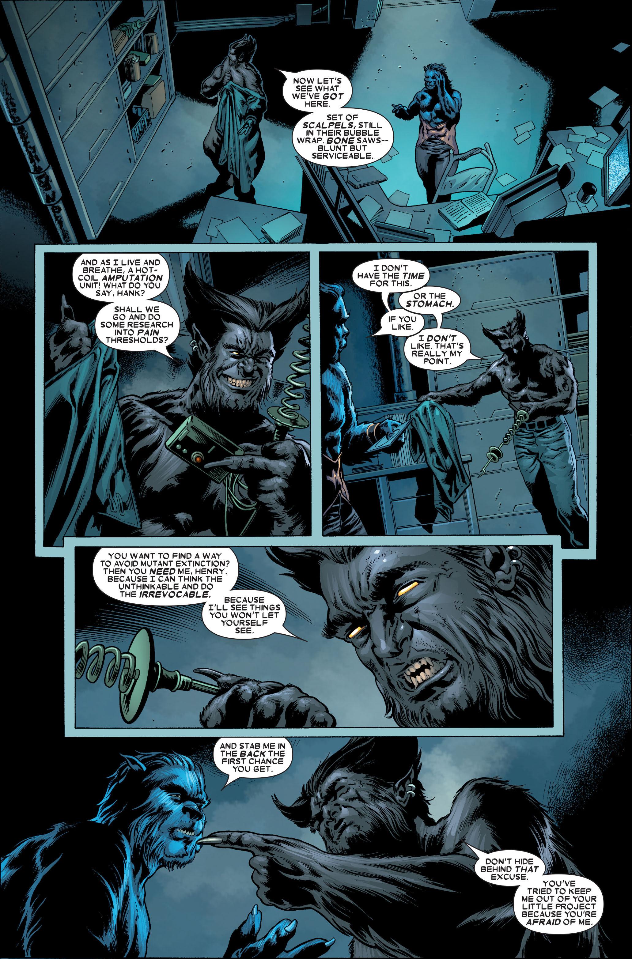 Read online Uncanny X-Men (1963) comic -  Issue #489 - 31