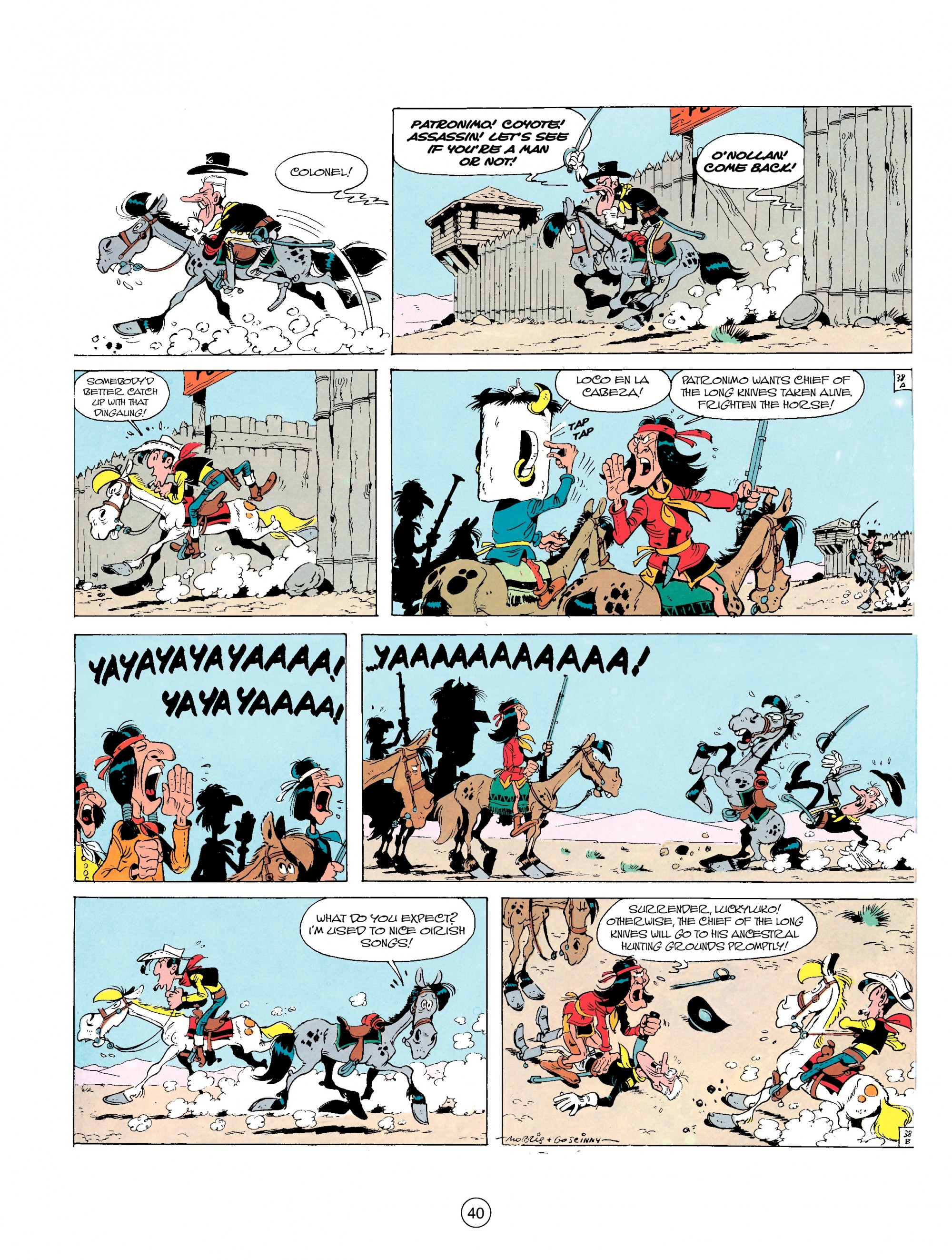 Read online A Lucky Luke Adventure comic -  Issue #17 - 40