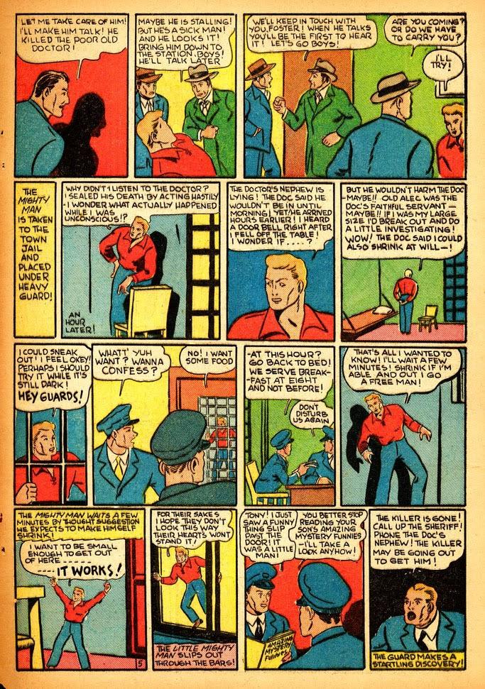 Read online Amazing Man Comics comic -  Issue #12 - 63