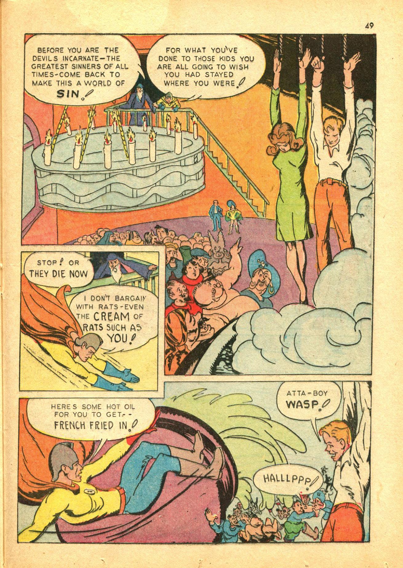 Read online Shadow Comics comic -  Issue #30 - 49