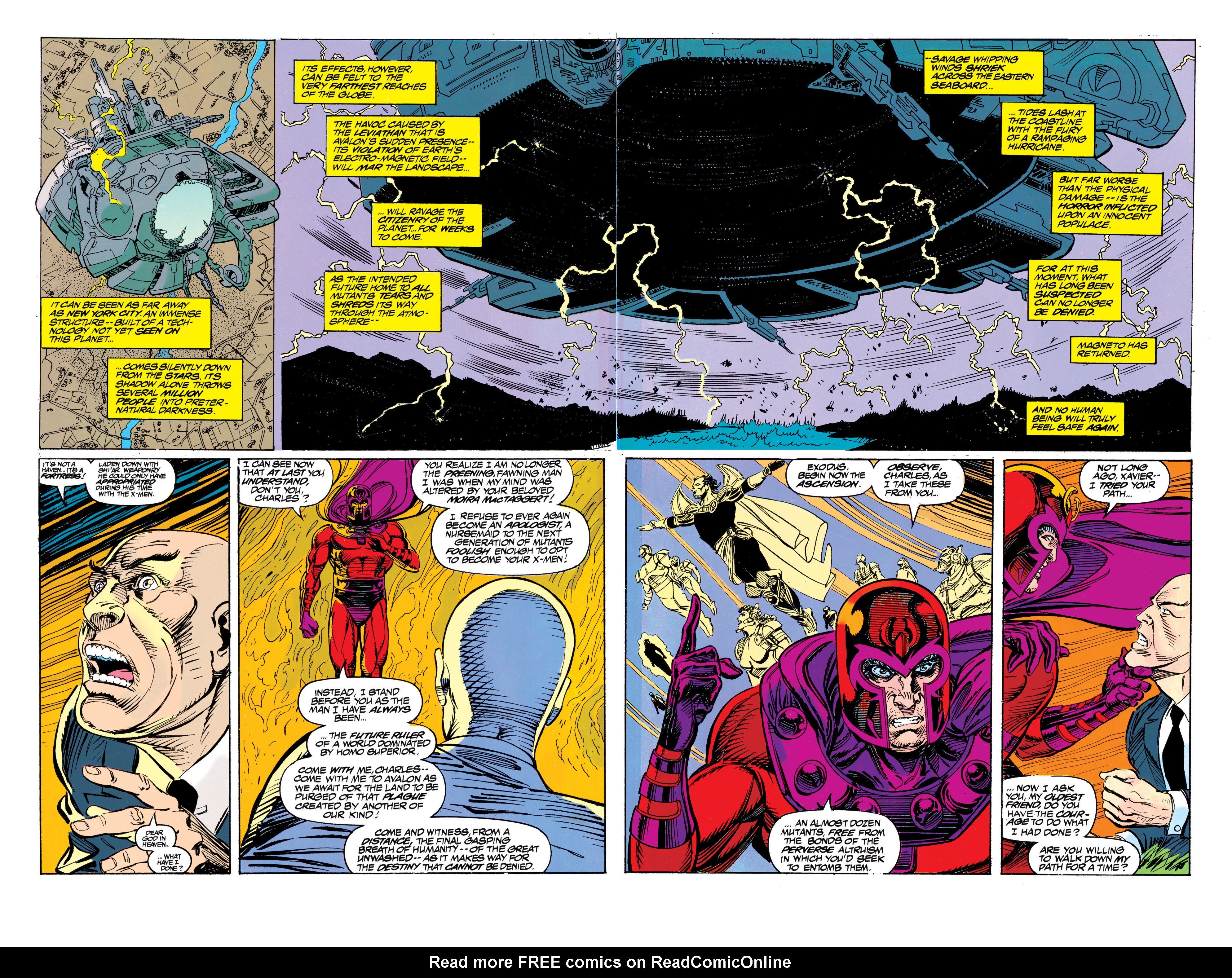 Read online Uncanny X-Men (1963) comic -  Issue #304 - 32