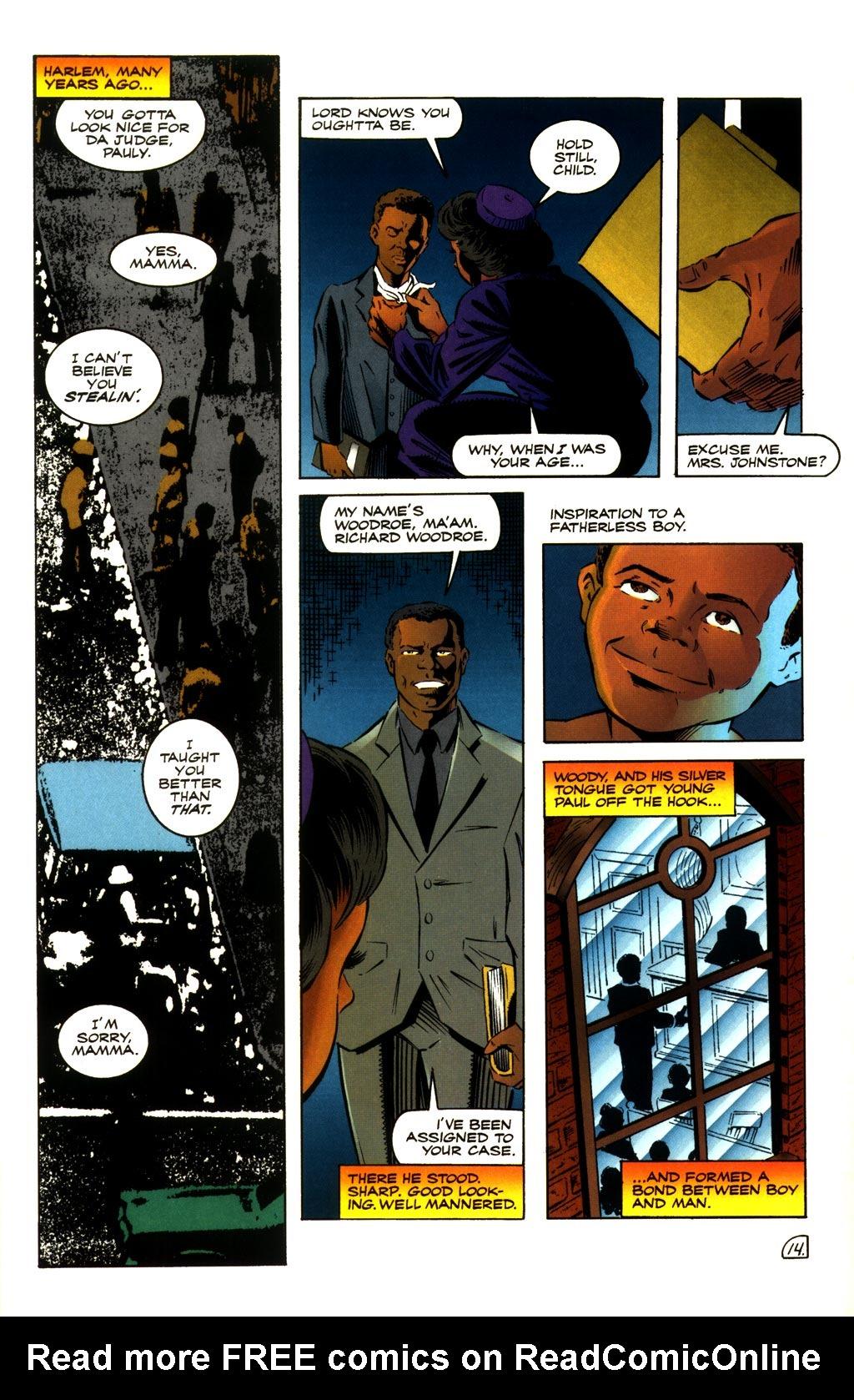 Read online ShadowHawk comic -  Issue #8 - 14