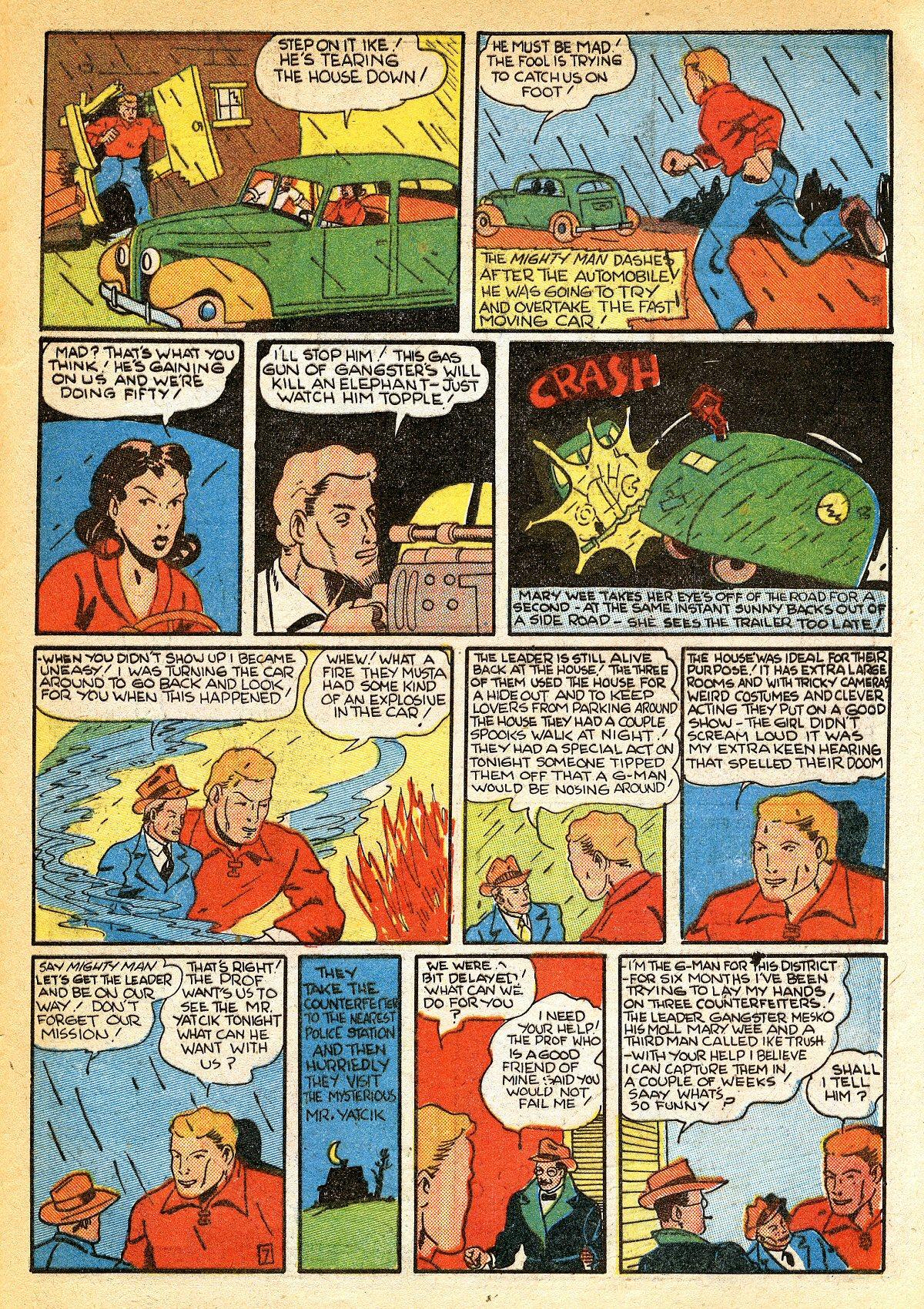 Read online Amazing Man Comics comic -  Issue #10 - 58