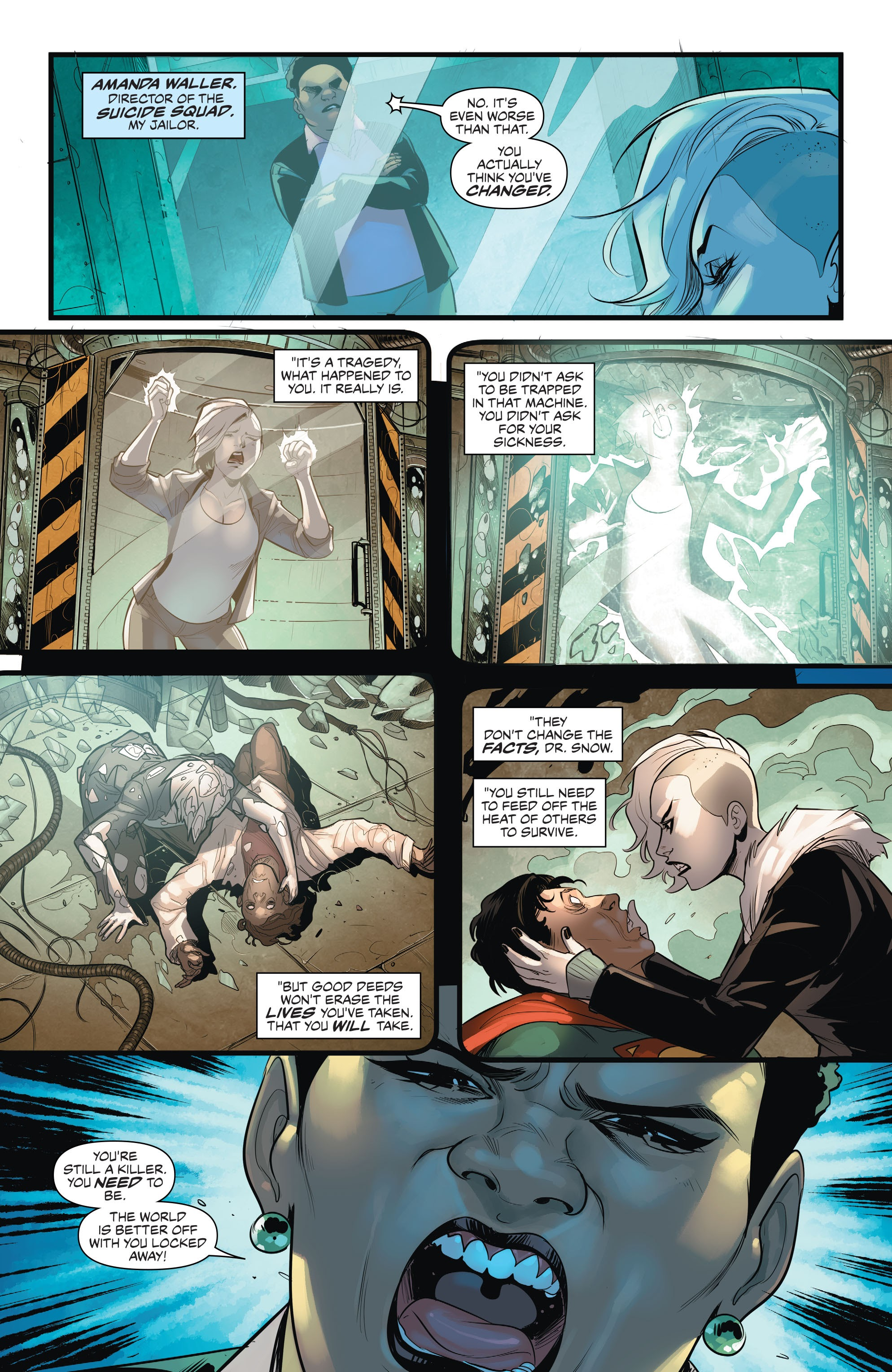 Read online Justice League of America: Killer Frost - Rebirth comic -  Issue # Full - 5