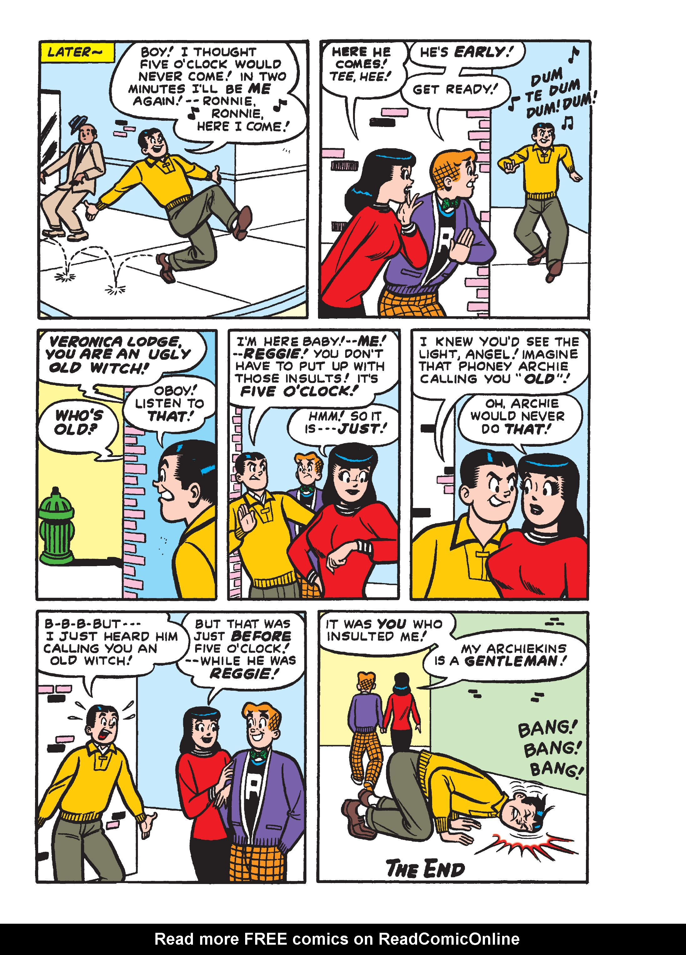 Read online Archie's Funhouse Double Digest comic -  Issue #15 - 141