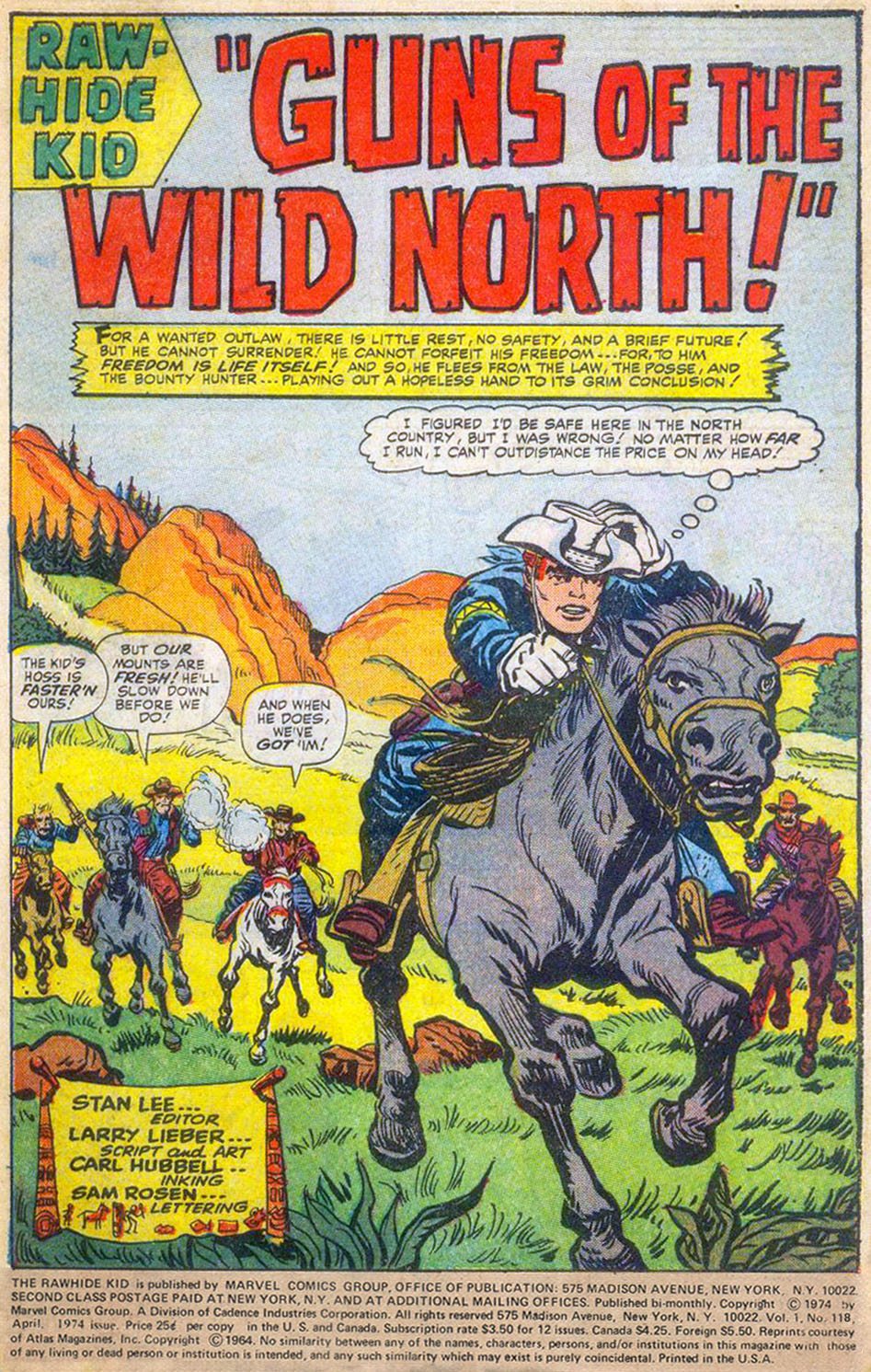 The Rawhide Kid (1955) issue 118 - Page 3