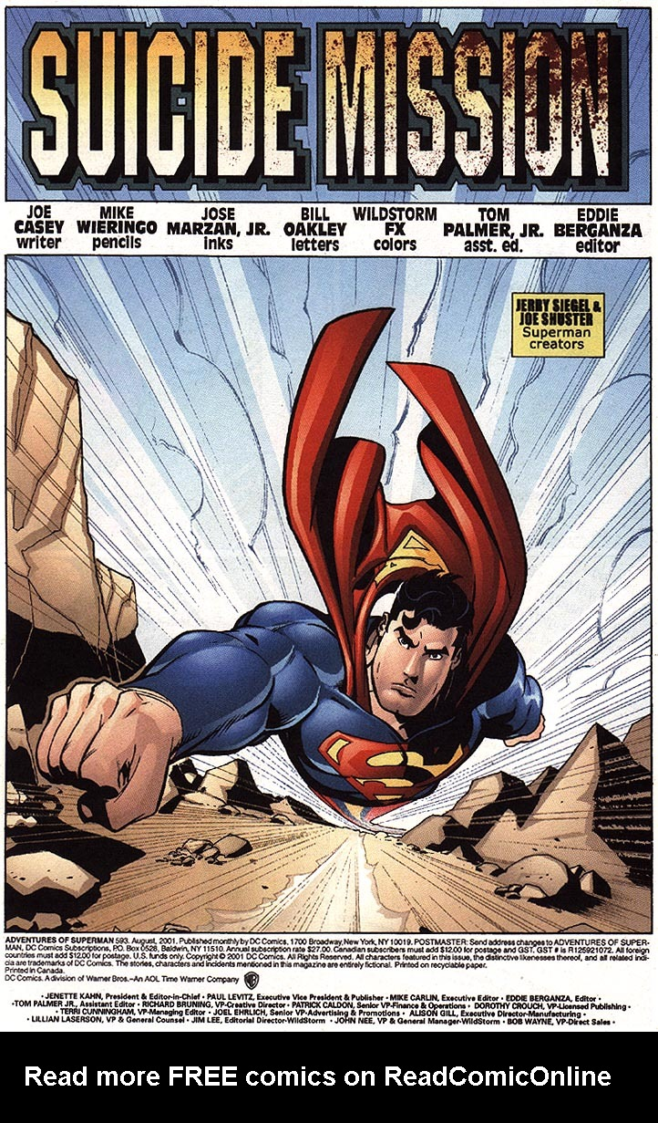 Read online Adventures of Superman (1987) comic -  Issue #593 - 7
