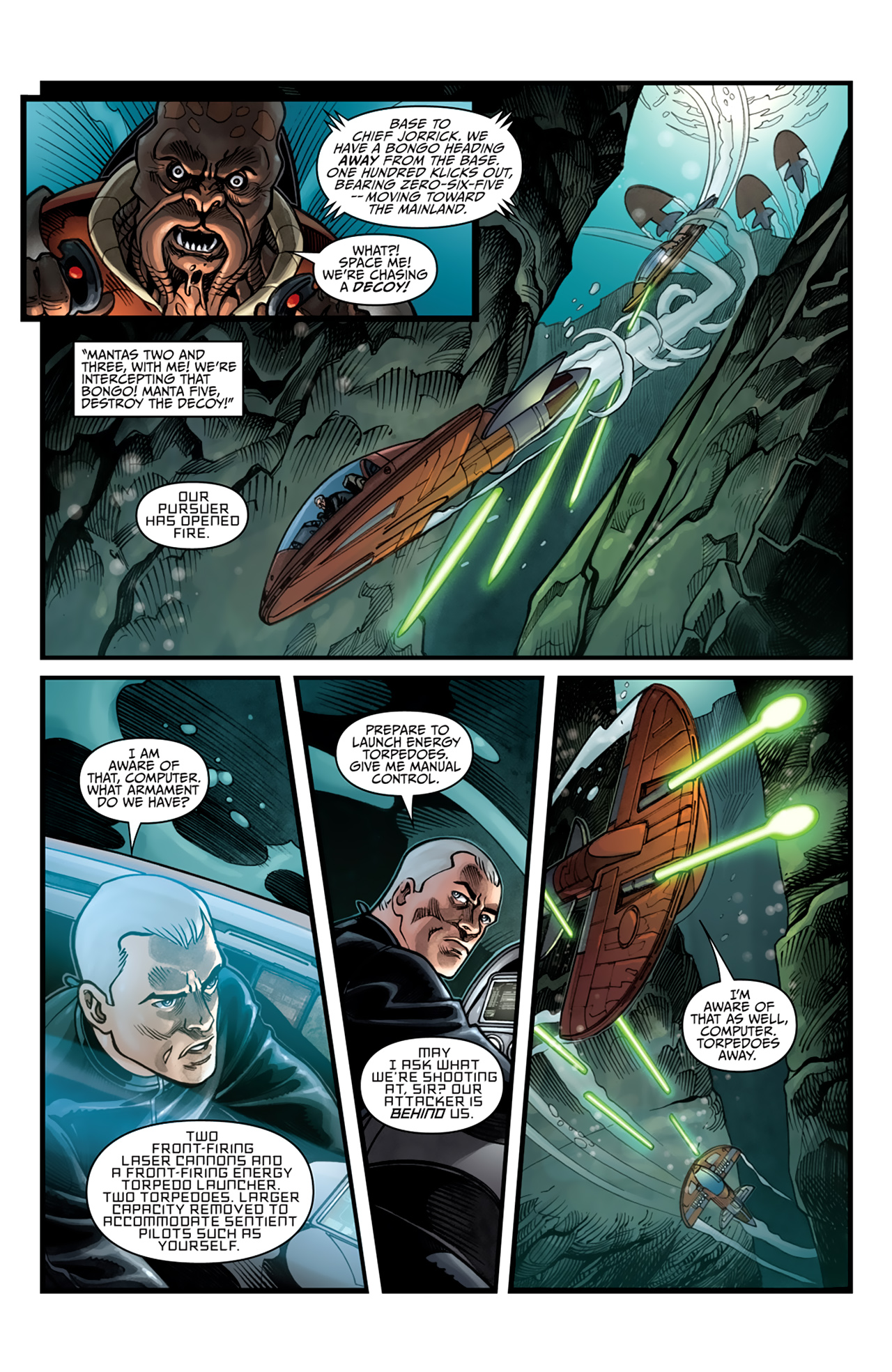 Read online Star Wars: Agent Of The Empire - Hard Targets comic -  Issue #4 - 18