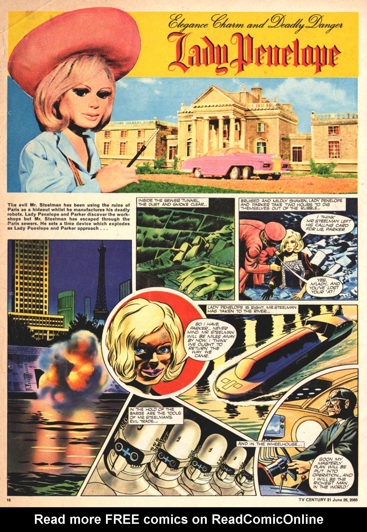 Read online TV Century 21 (TV 21) comic -  Issue #23 - 15