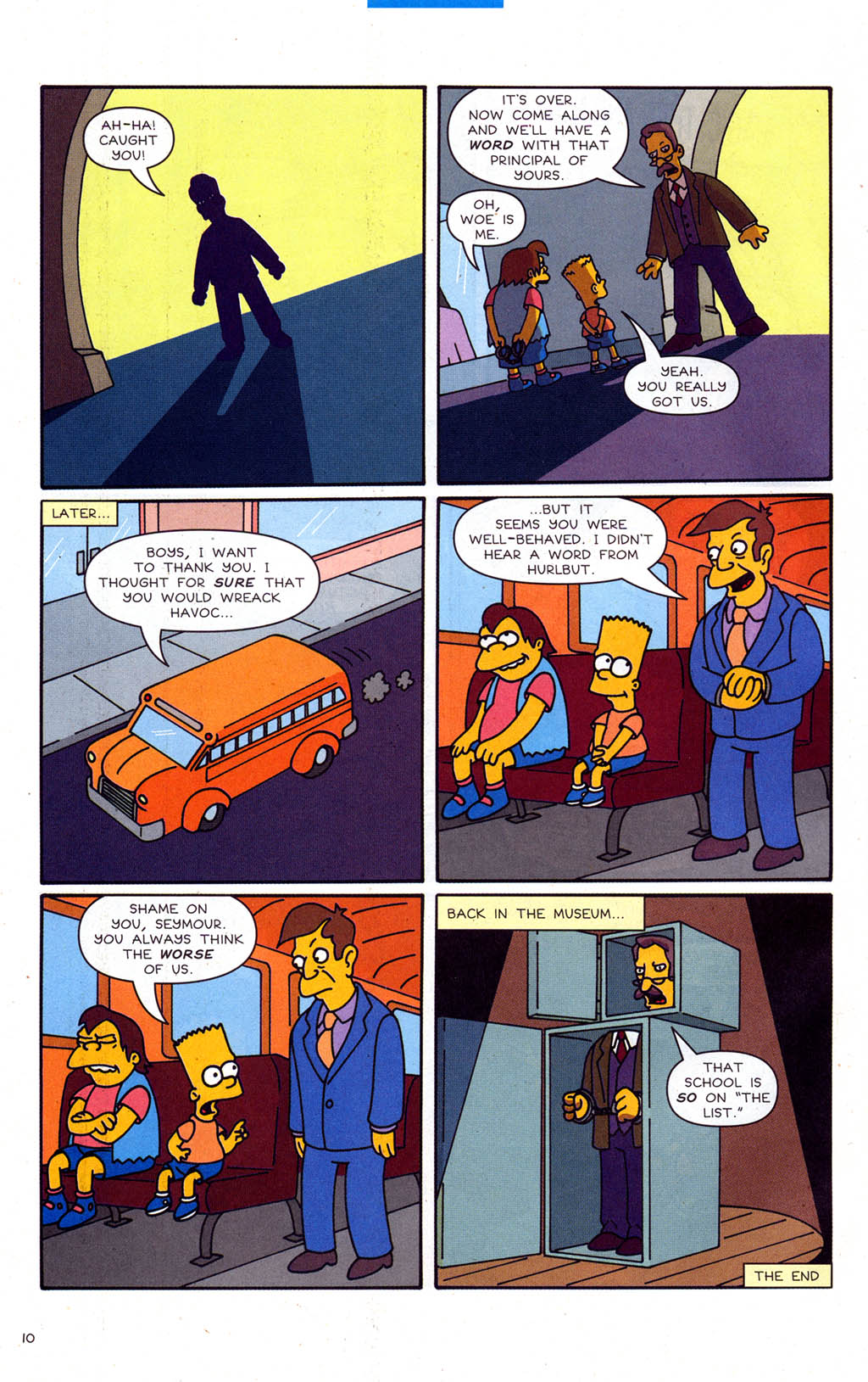 Read online Simpsons Comics Presents Bart Simpson comic -  Issue #21 - 32