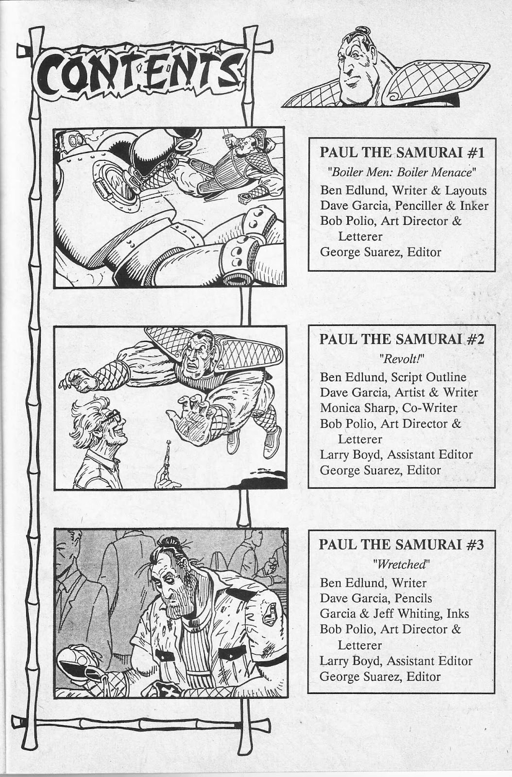 Read online Paul the Samurai (1991) comic -  Issue # TPB - 5