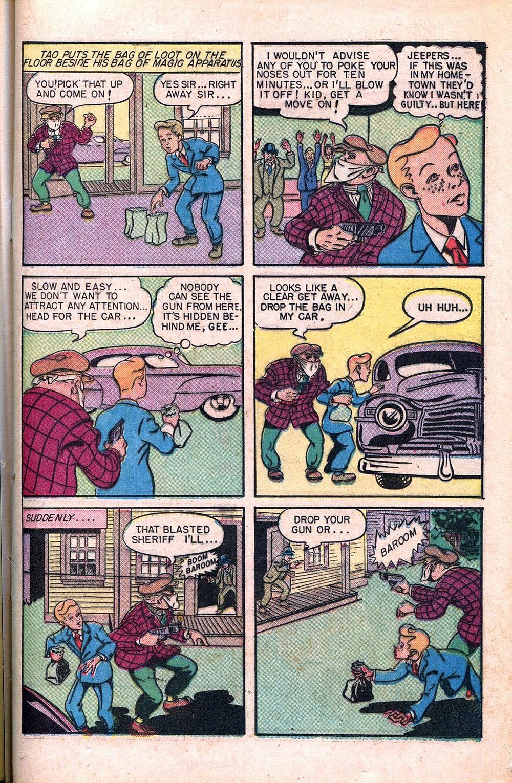 Read online Super-Magician Comics comic -  Issue #55 - 21