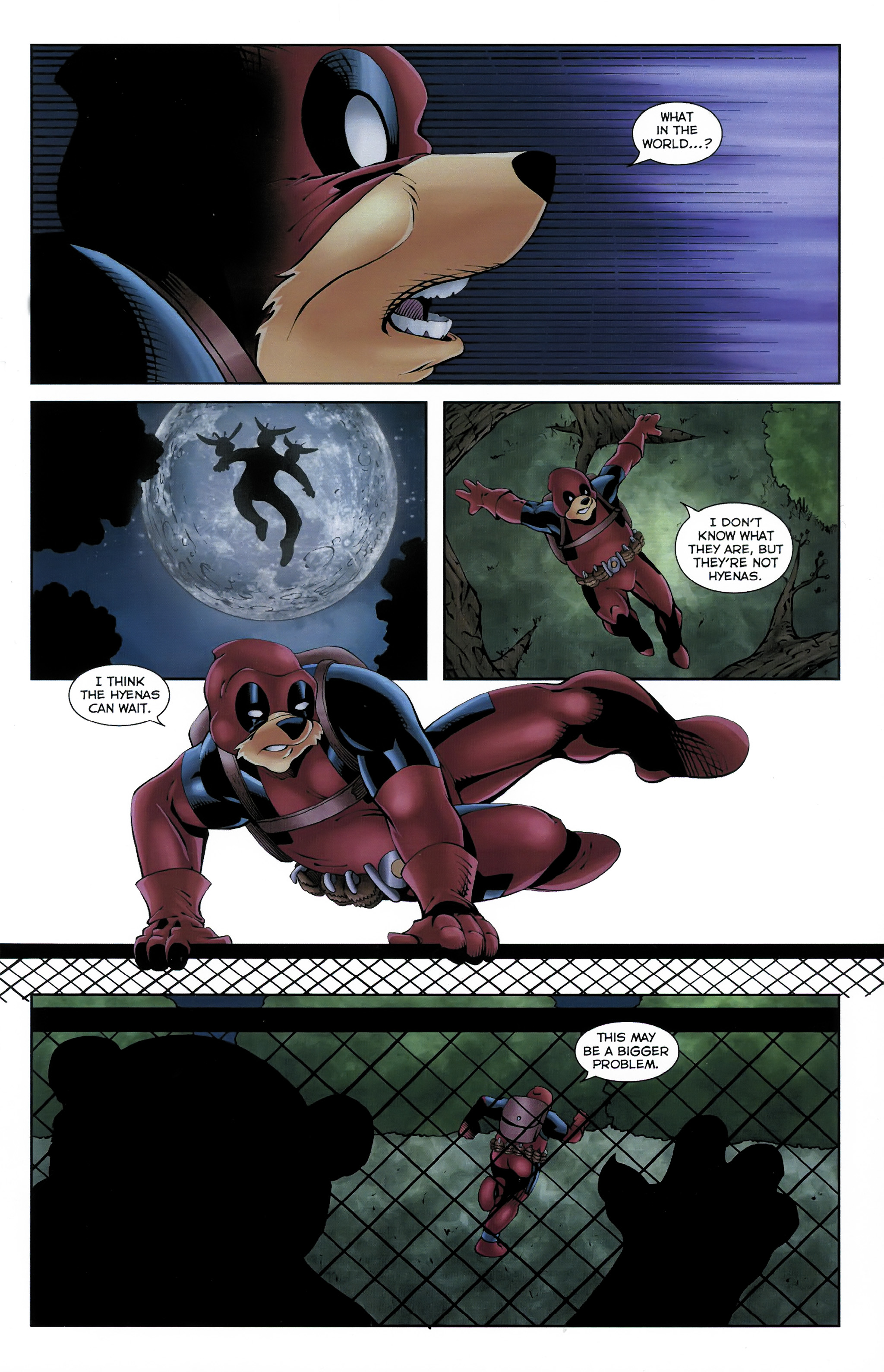 Read online Dead Pooh comic -  Issue #3 - 15