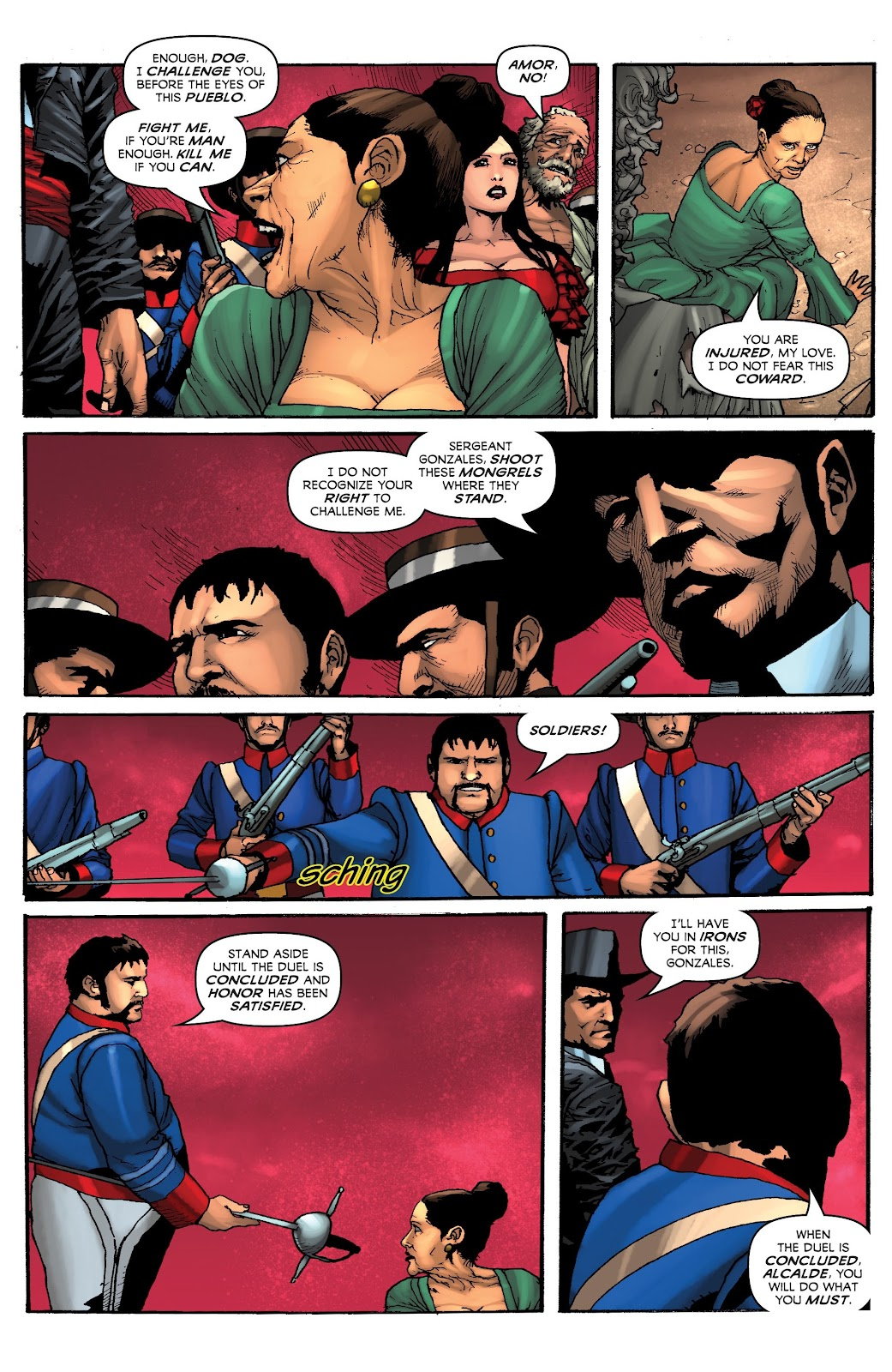Read online Zorro: Swords of Hell comic -  Issue #4 - 13