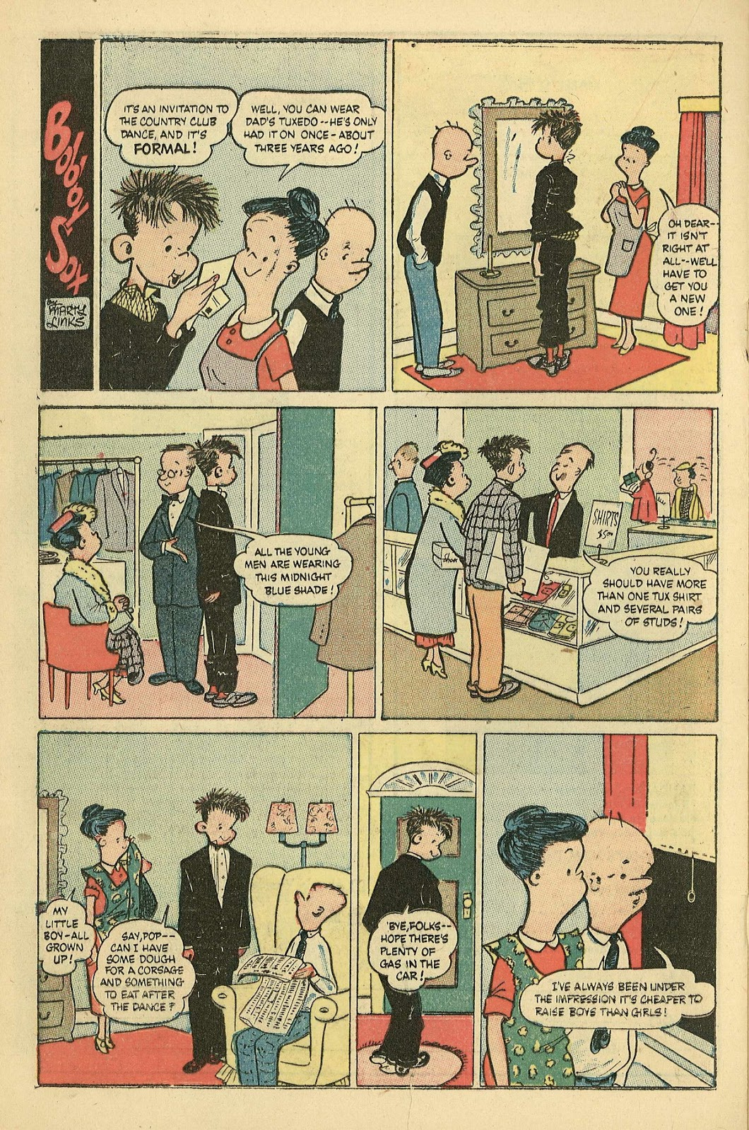 Read online Famous Funnies comic -  Issue #198 - 20