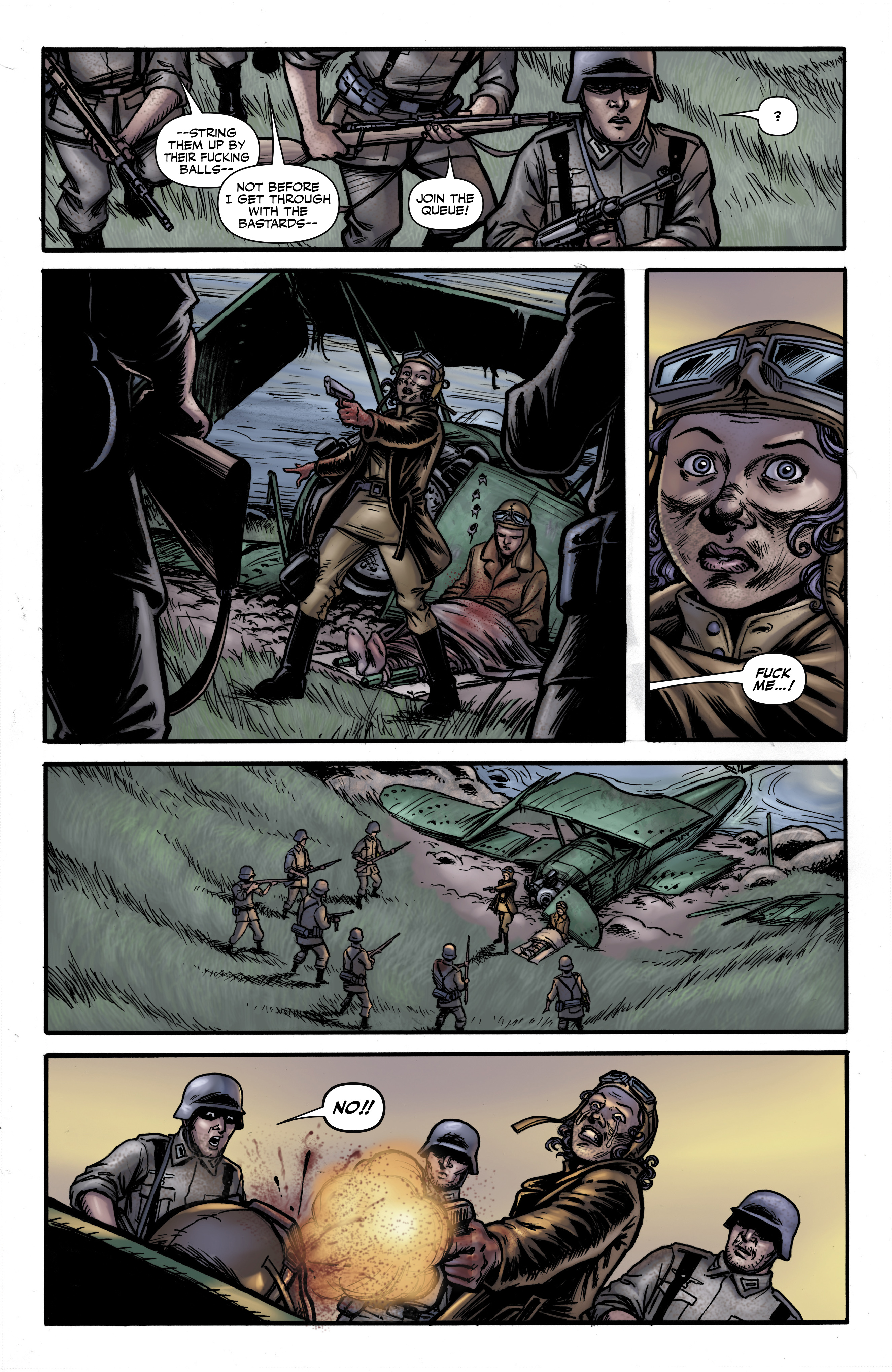 Read online Battlefields: Night Witches comic -  Issue # TPB - 24