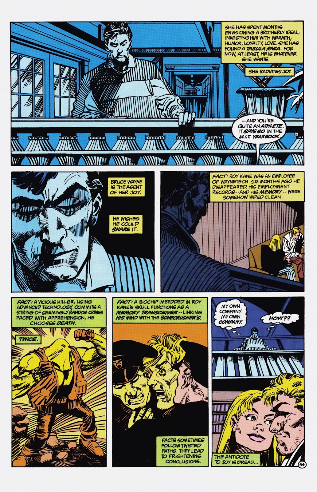 Read online Detective Comics (1937) comic -  Issue # _TPB Batman - Blind Justice (Part 1) - 49