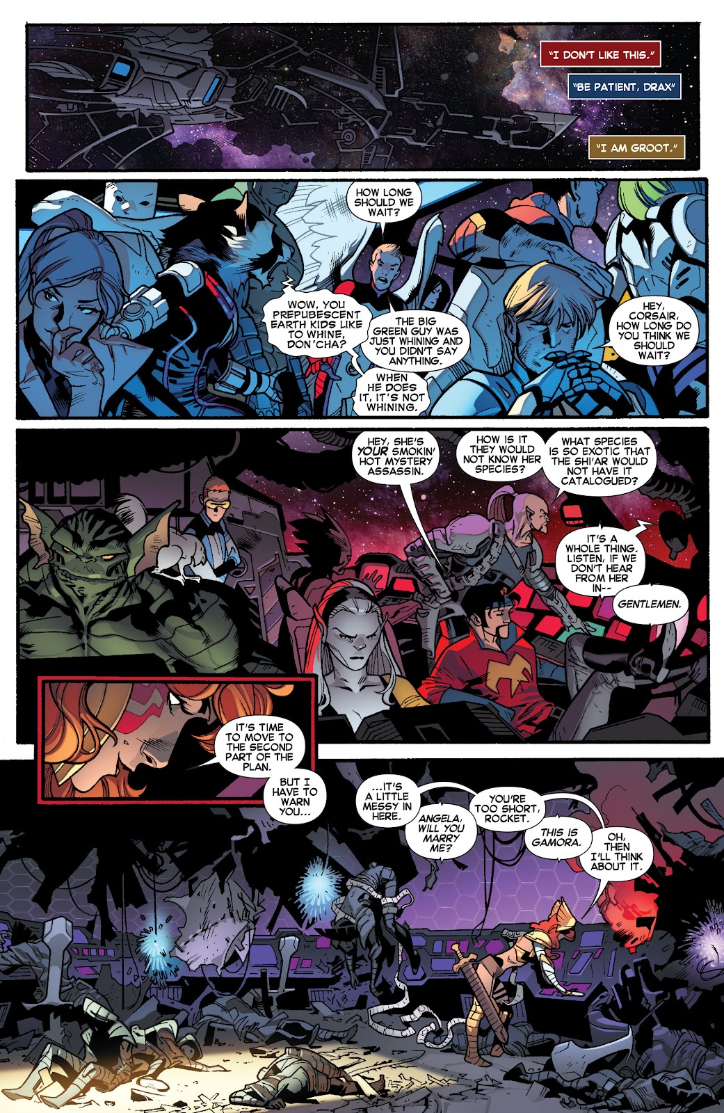 Guardians of the Galaxy/All-New X-Men: The Trial of Jean Grey issue TPB - Page 86