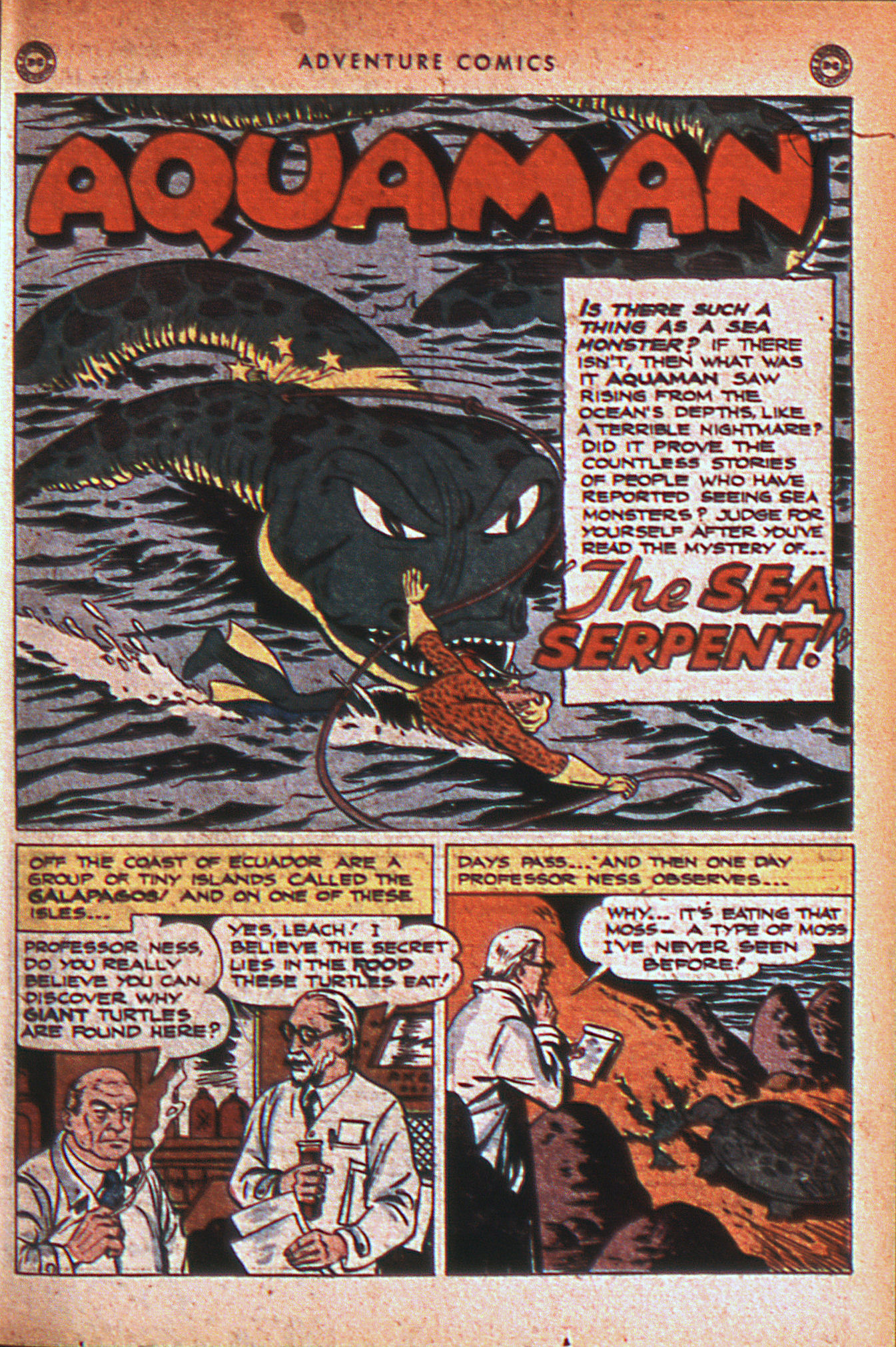 Read online Adventure Comics (1938) comic -  Issue #124 - 34