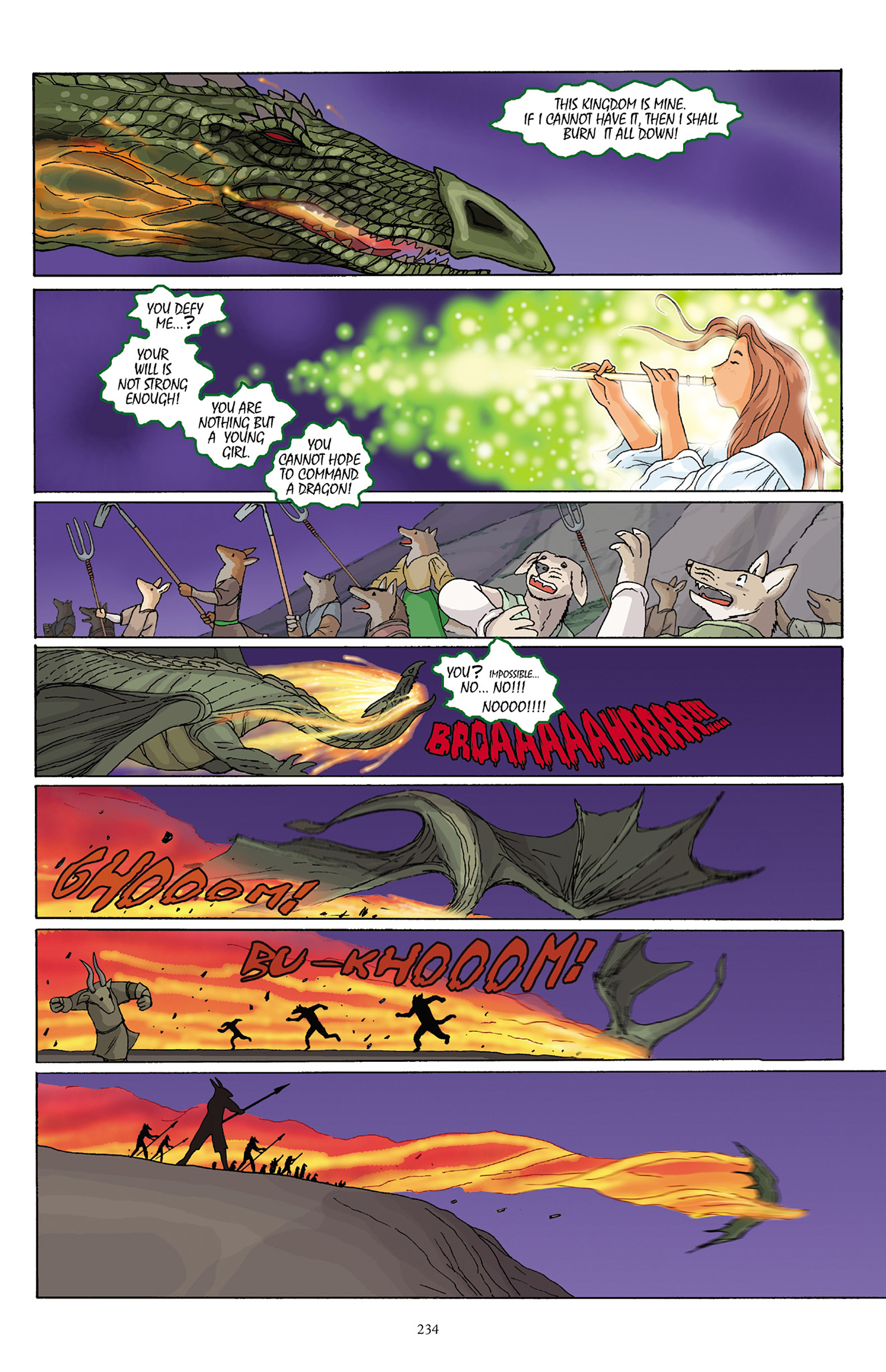 Read online Courageous Princess comic -  Issue # TPB 1 - 230