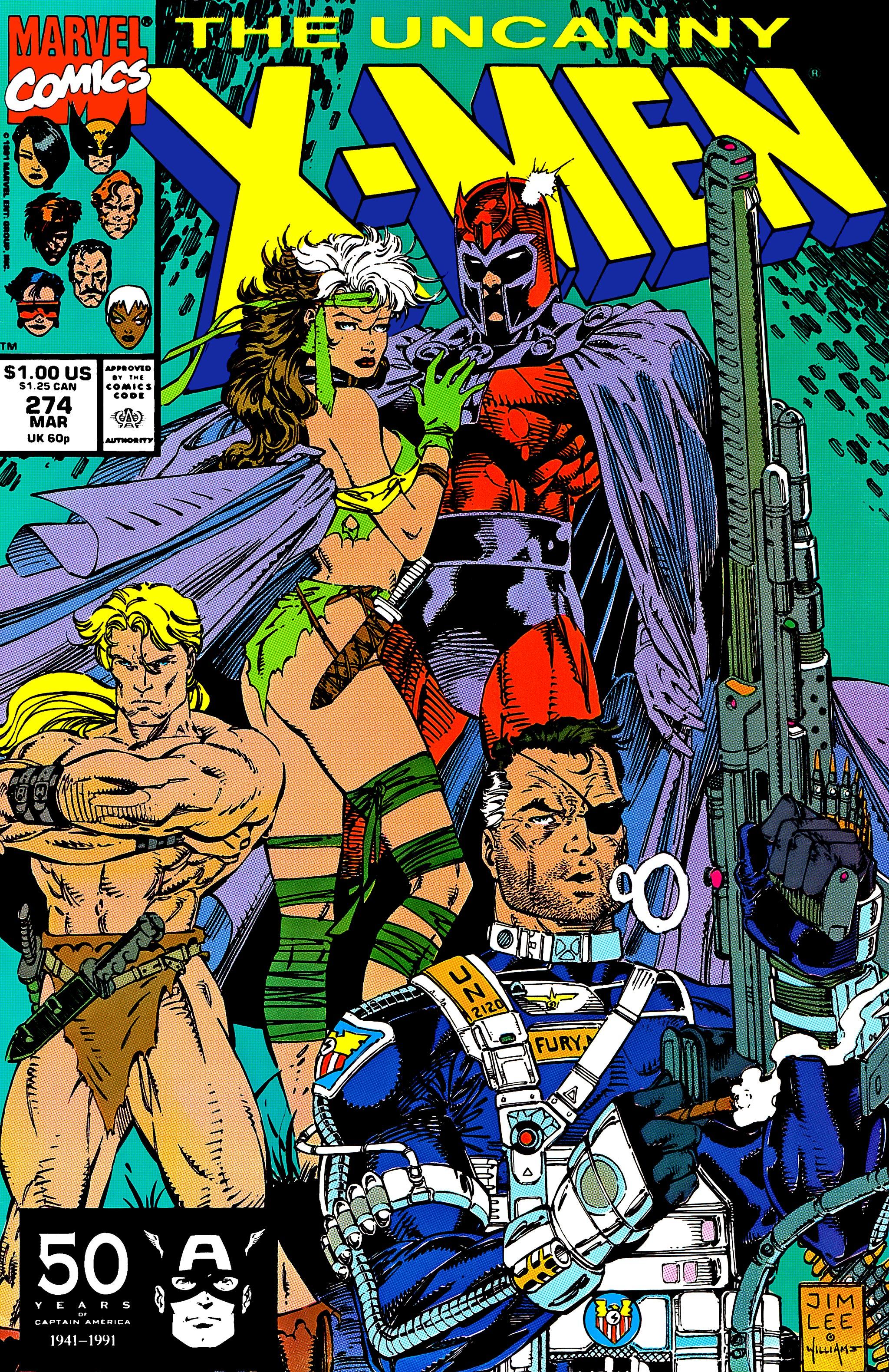 Read online Uncanny X-Men (1963) comic -  Issue #274 - 1