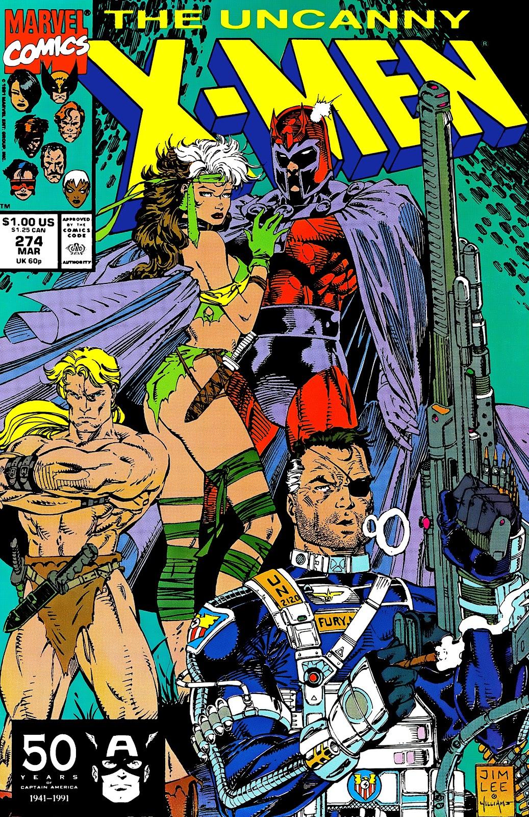 Uncanny X-Men (1963) issue 274 - Page 1